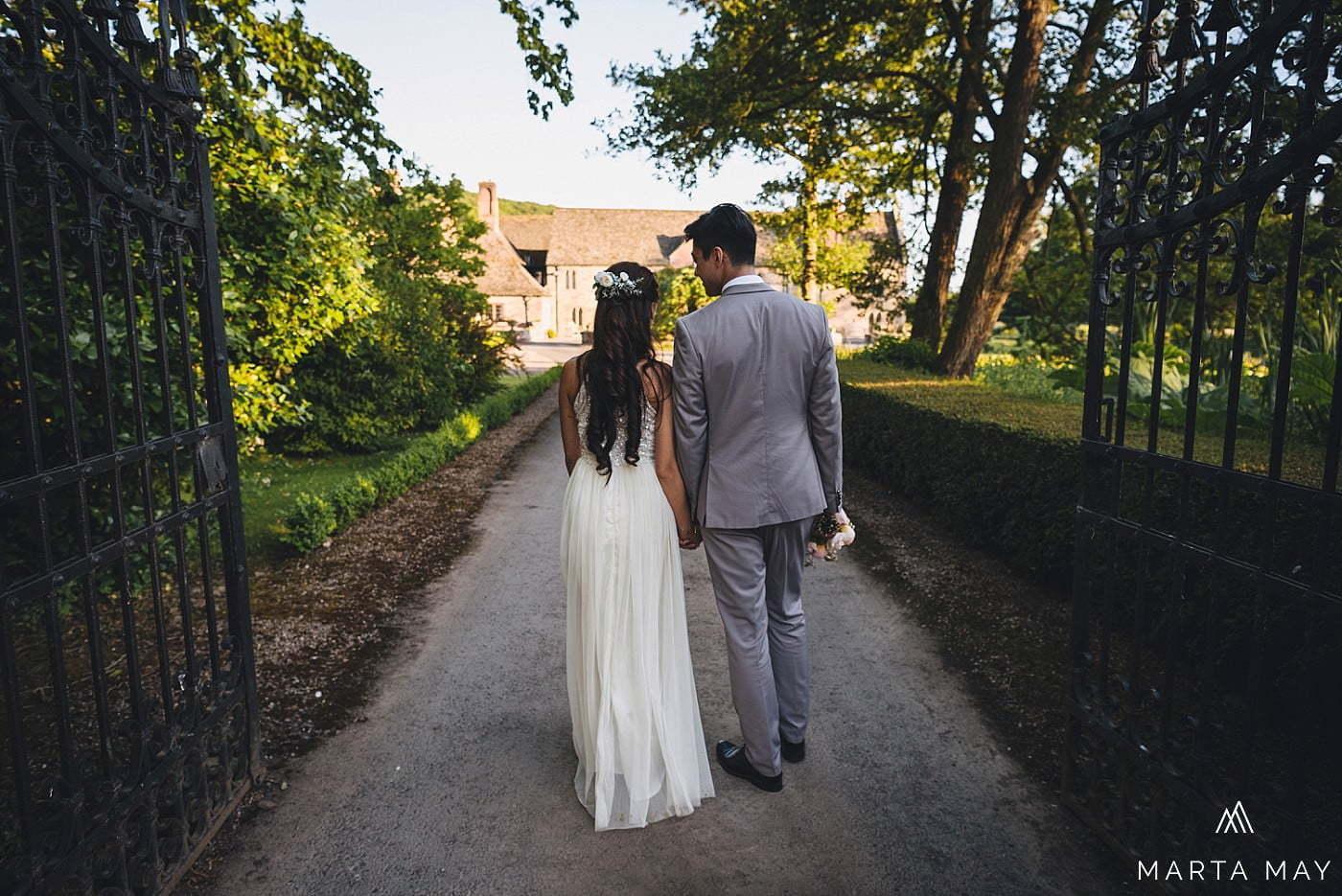 Herefordshire wedding photographers Brinsop Court Chinese
