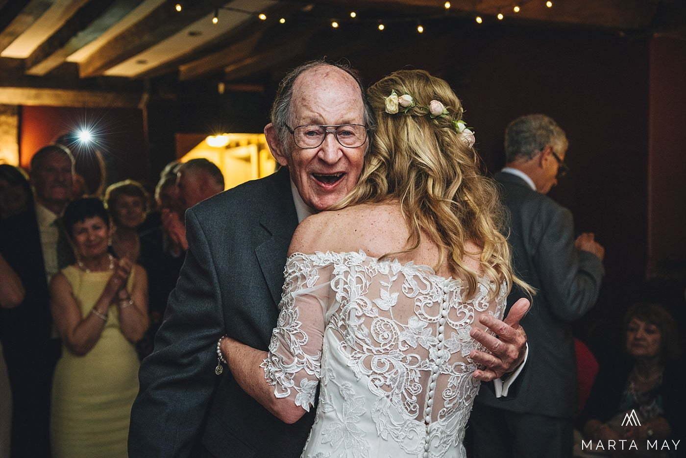 Brides dad Brinsop Court