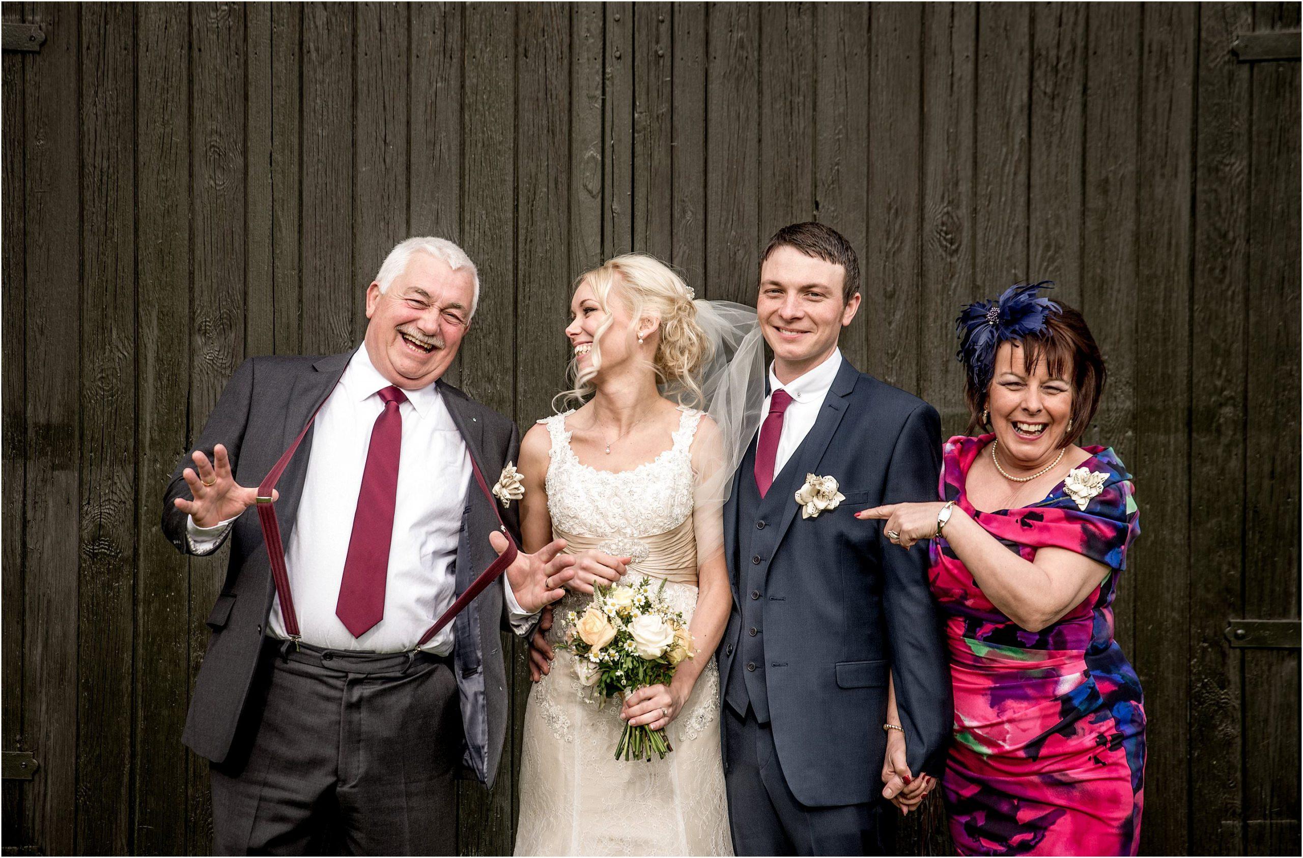group shots formal wedding photos