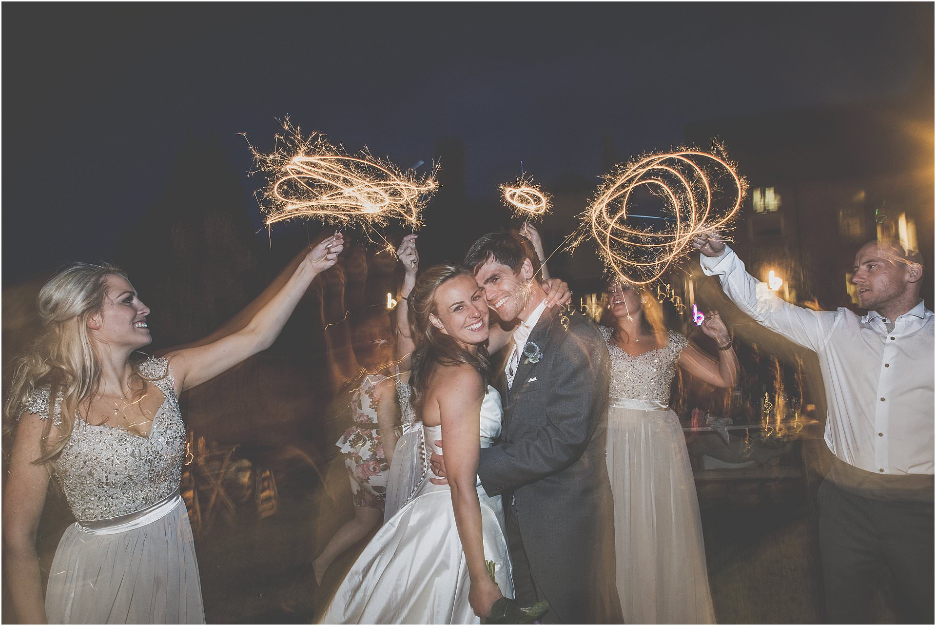 Sparklers at weddings wedding photography