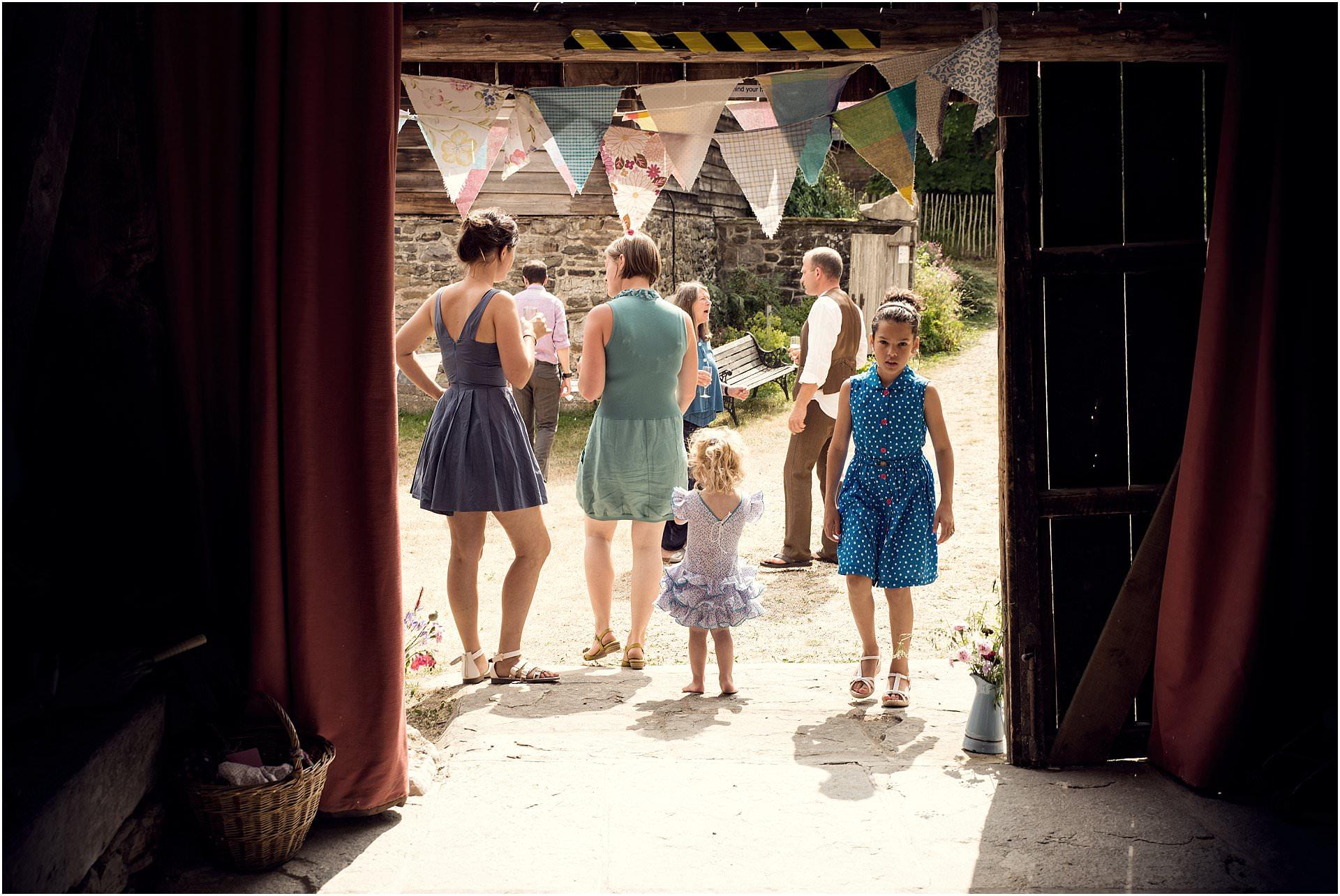 barn wedding Kington