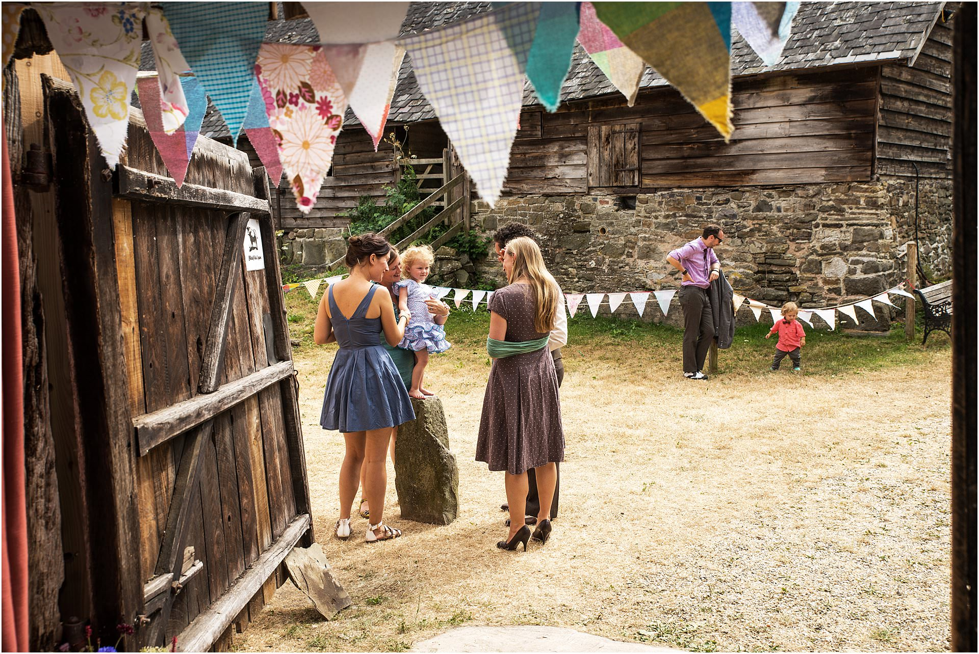 Kington Powys outdoor wedding Sidney Nolan Trust