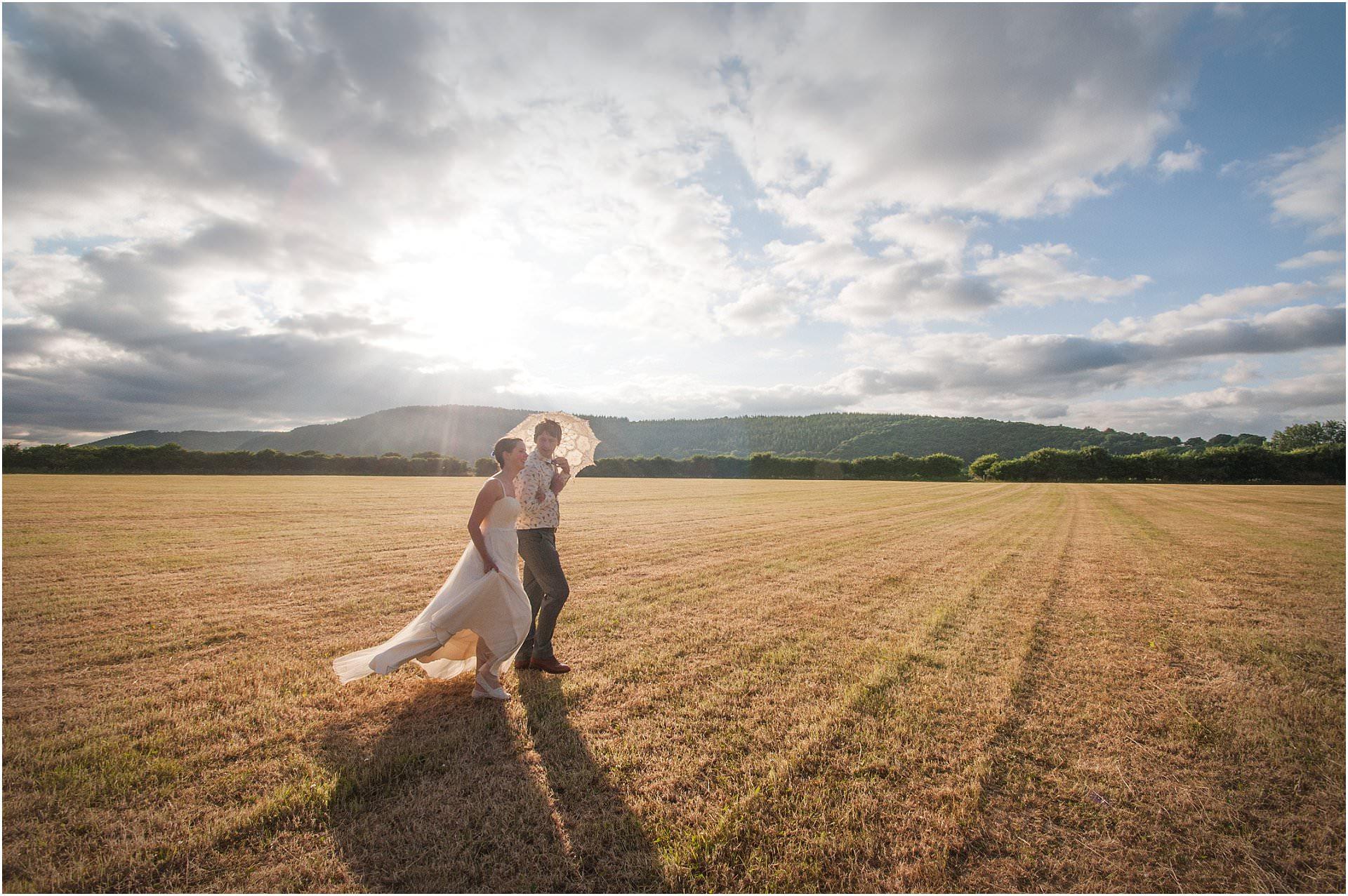 outdoor wedding Kington