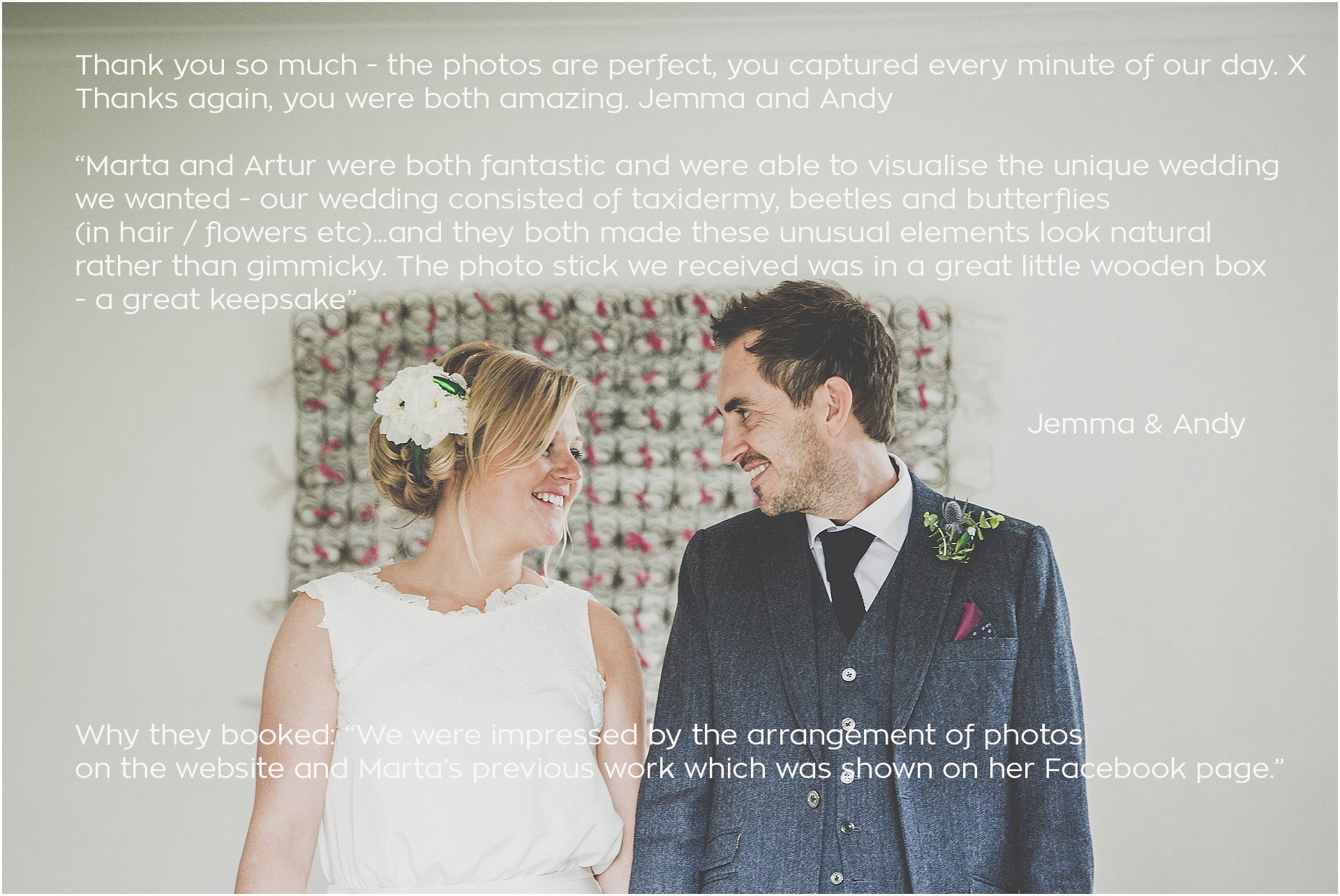 Lyde Court quirky wedding