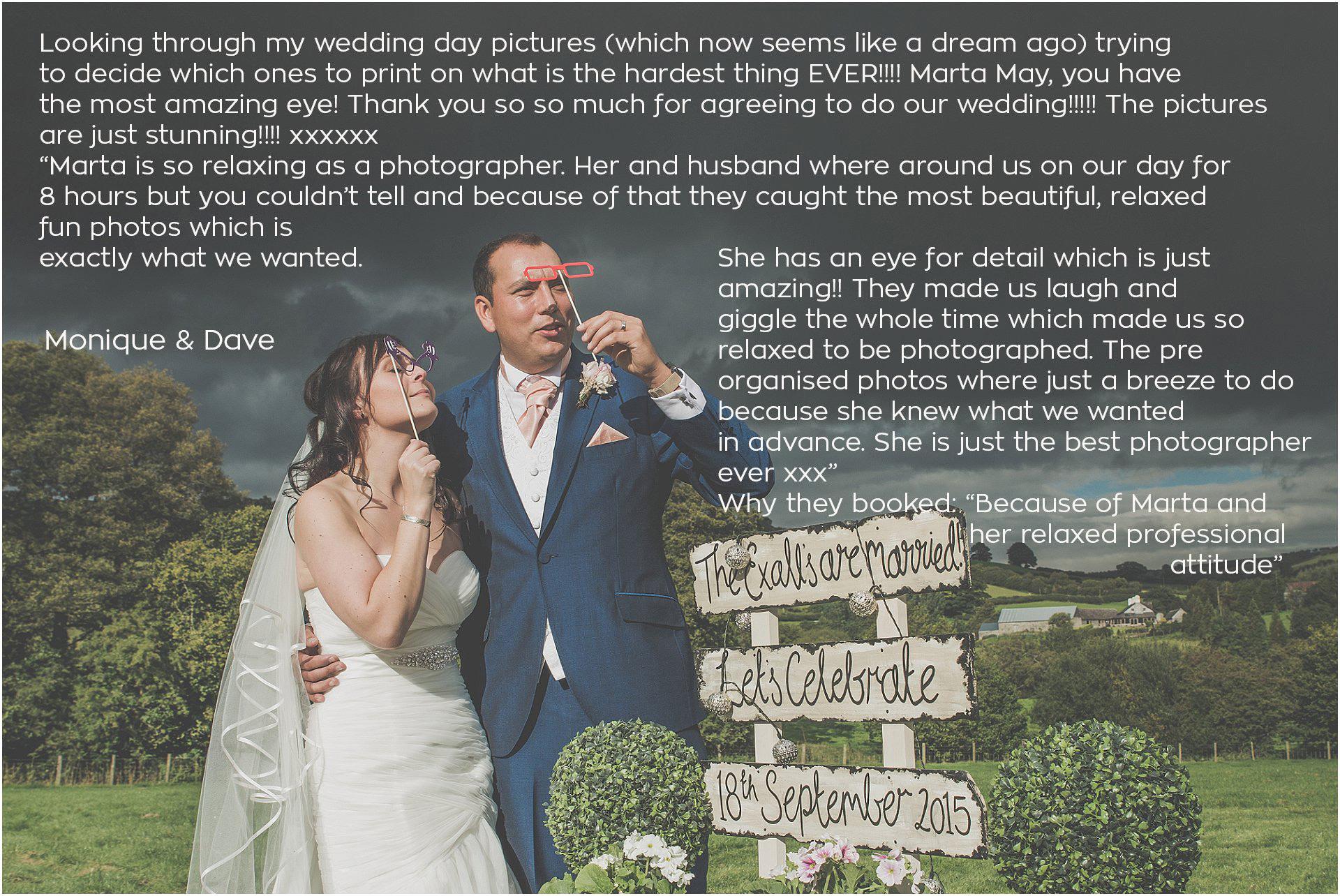 Kington Powys outdoor wedding Marta May Photography