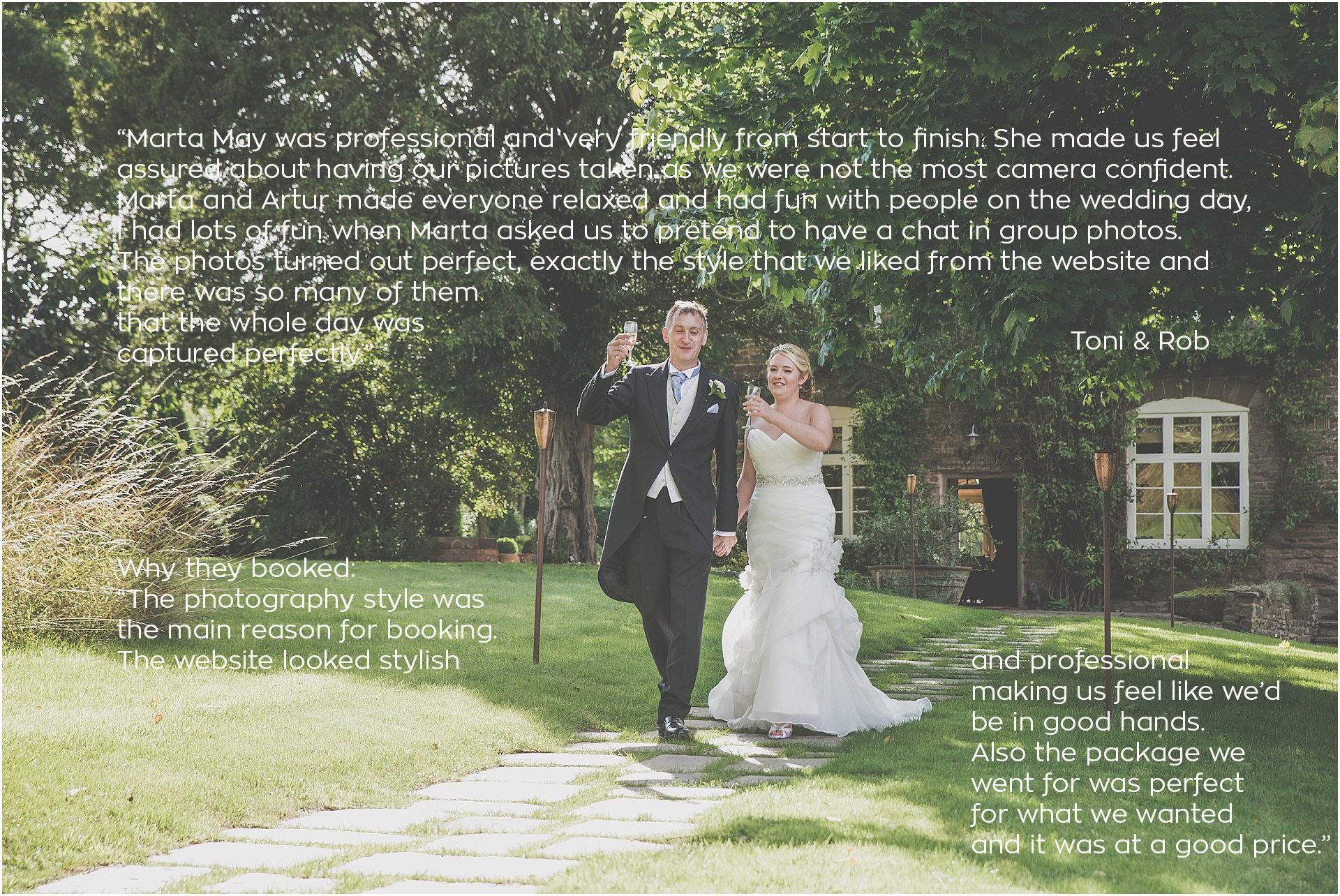 Dewsall Court Wedding Marta May Photography