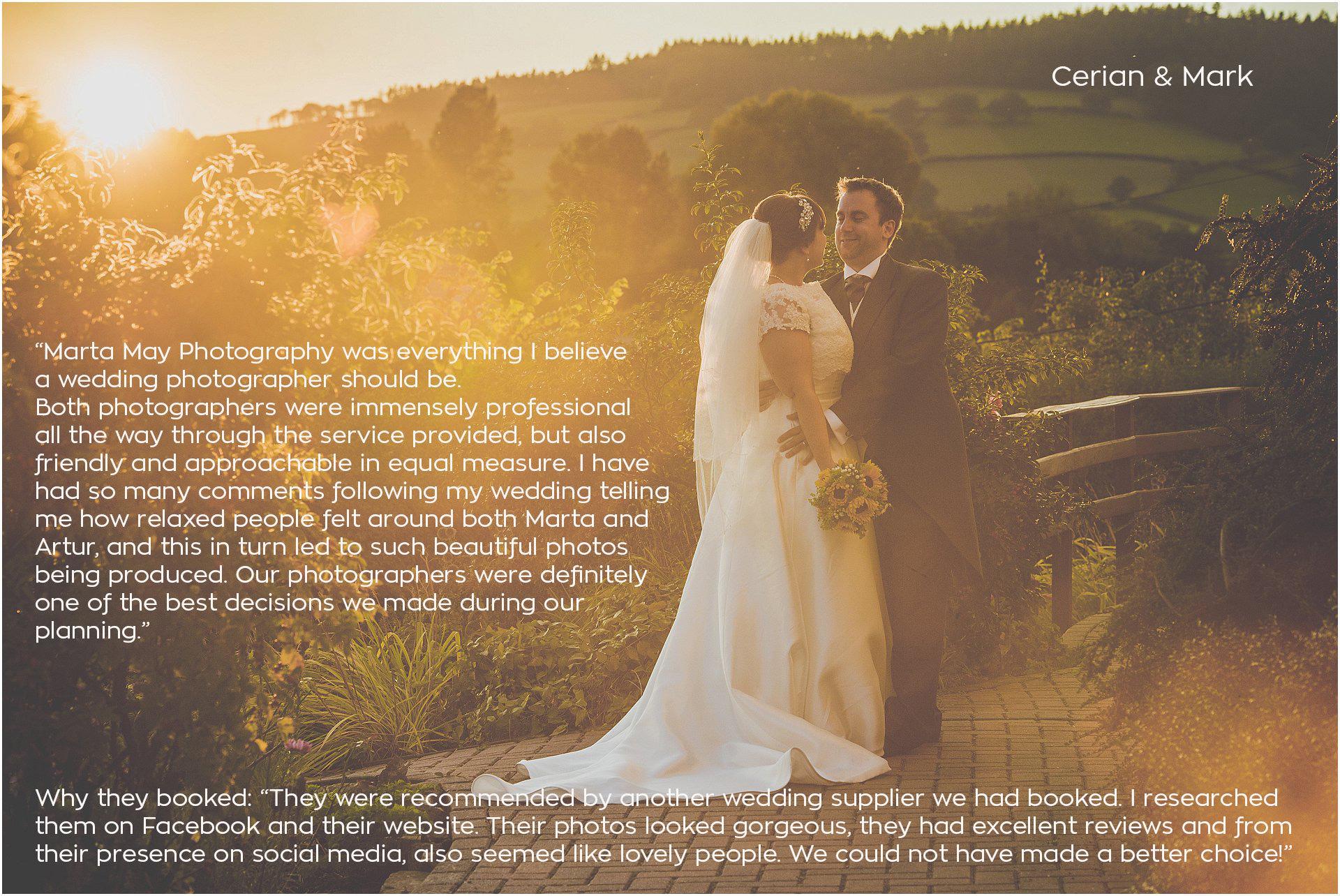 Brecon Castle Wedding Marta May Photography