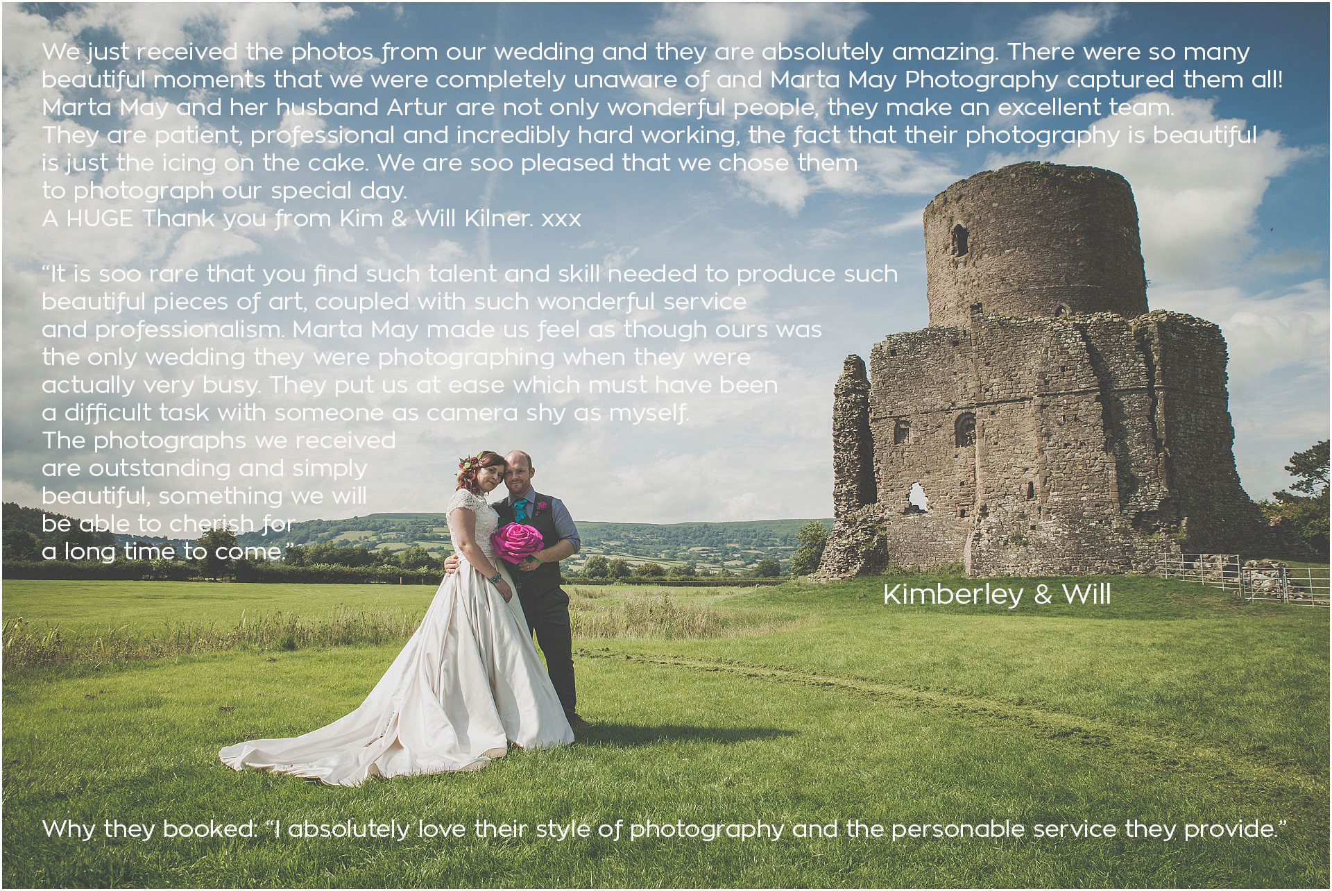 Tretower Court and Castle Wedding