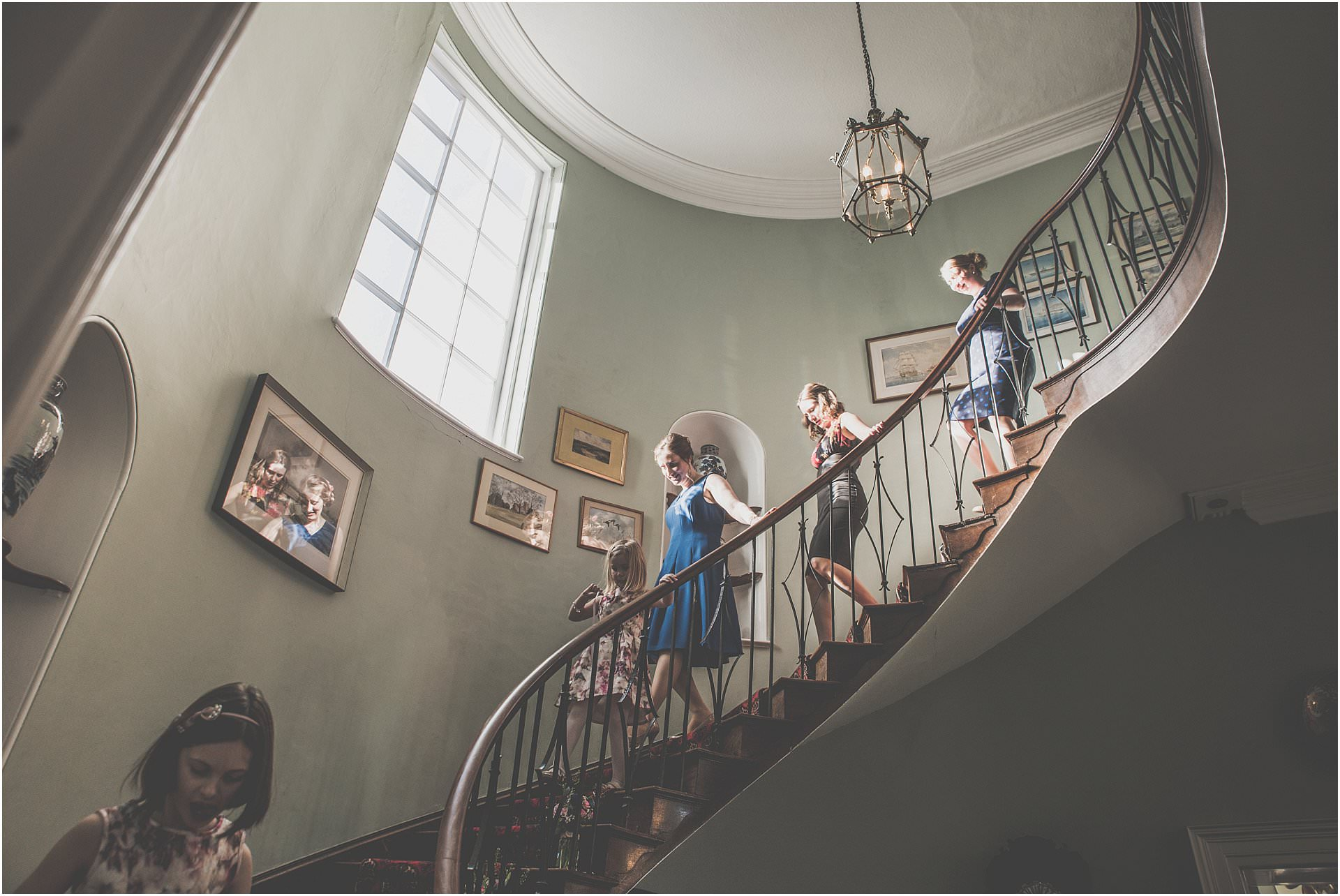 Homme House staircase
