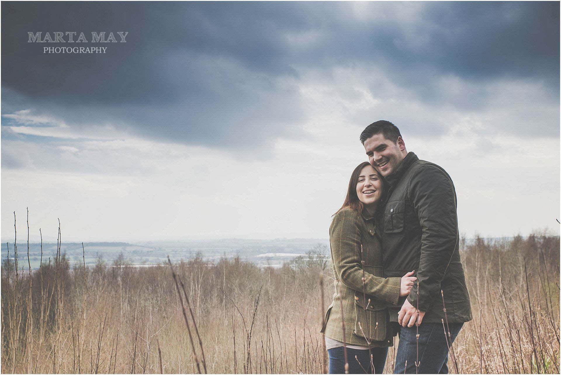 pre-wedding shoots Hereford wedding photographer