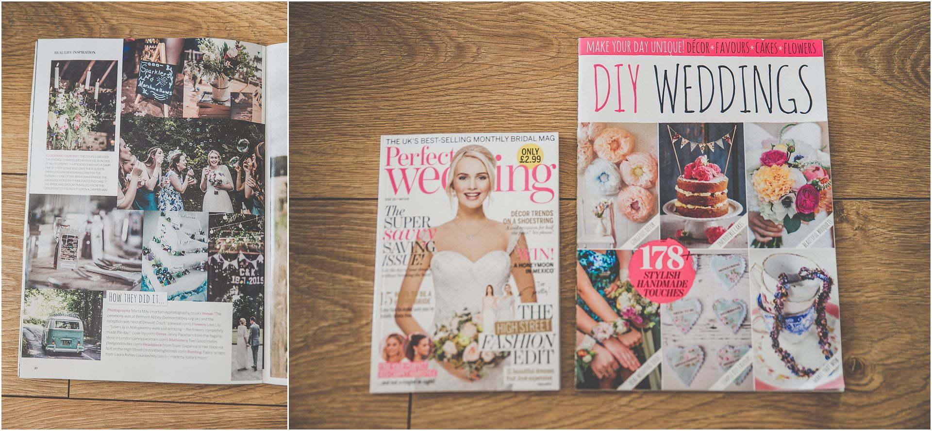 perfect wedding magazine marta may