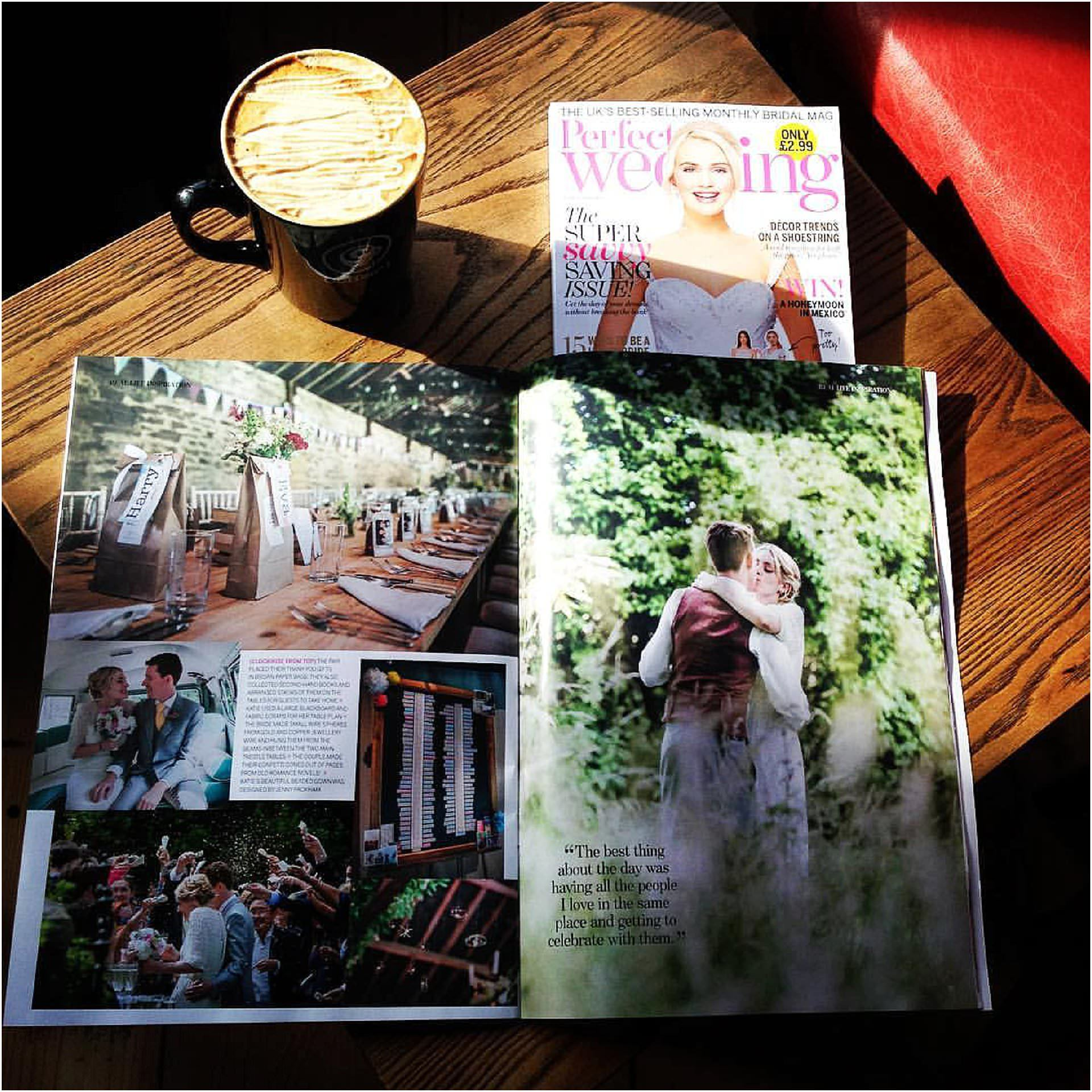 perfect wedding magazine marta may