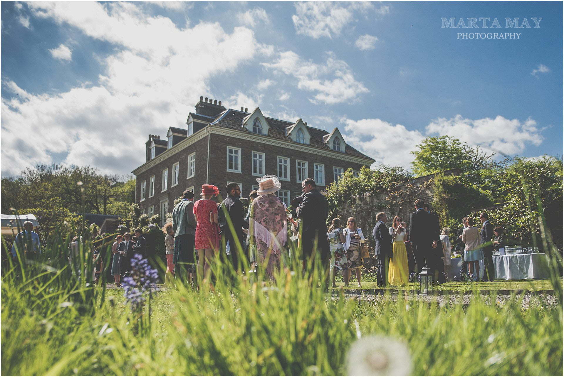botanical wedding wedding photographer Wales