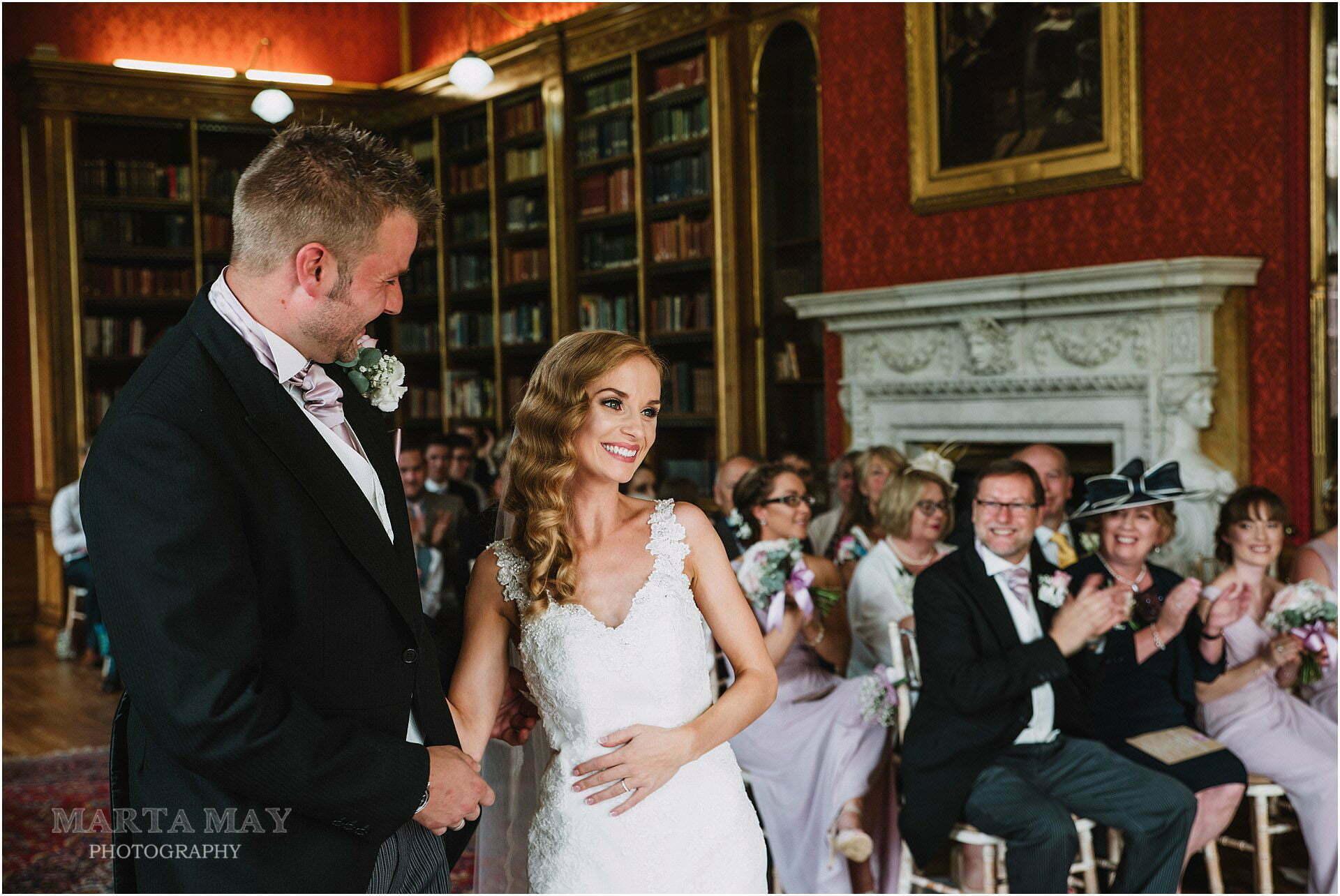 Westonbirt School wedding ceremony photos