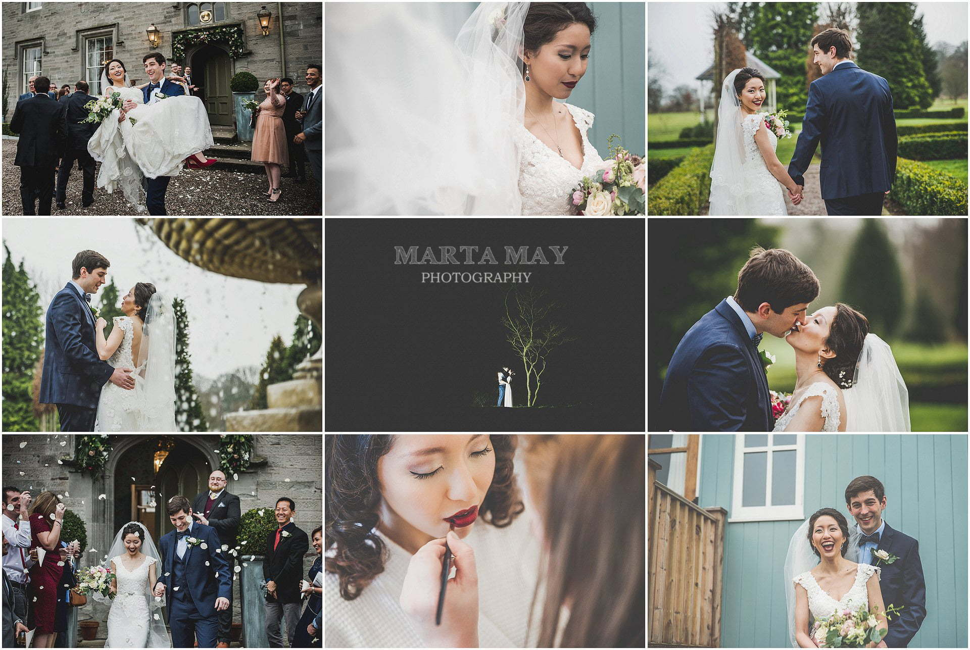beautiful winter weddings wedding photographer