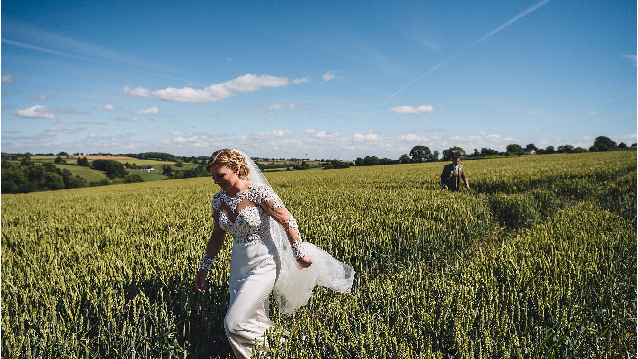 beautiful summer weddings hereford wedding photographer