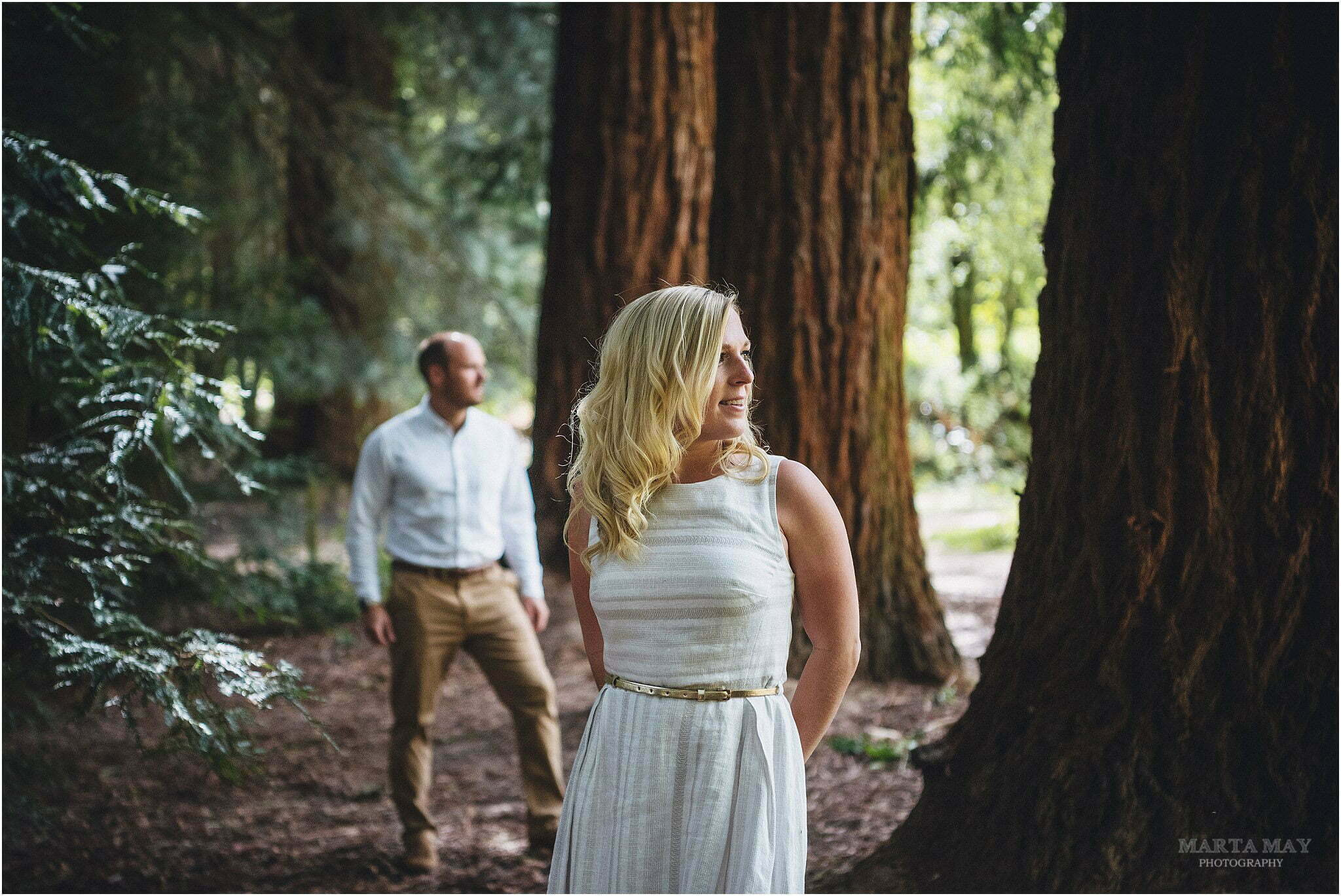 Queenswood engagement shoot