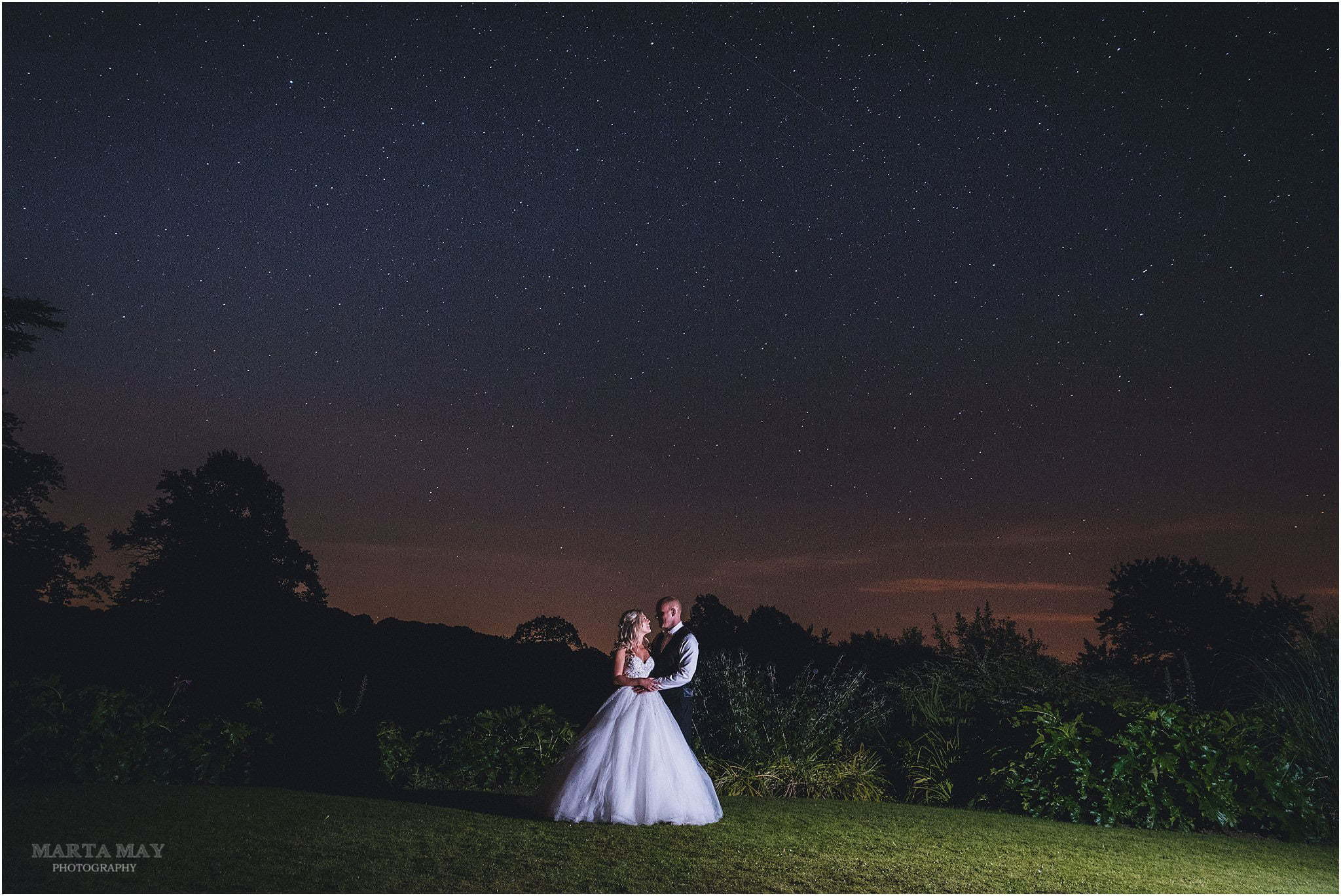 astro photography at weddings
