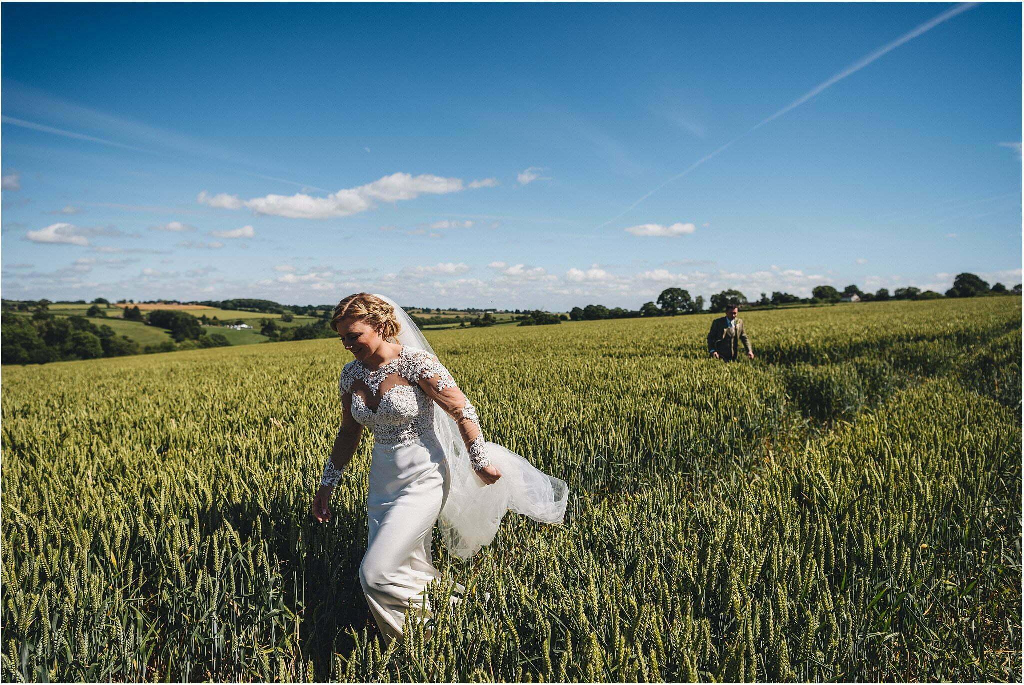Clifton upon Teme marquee wedding