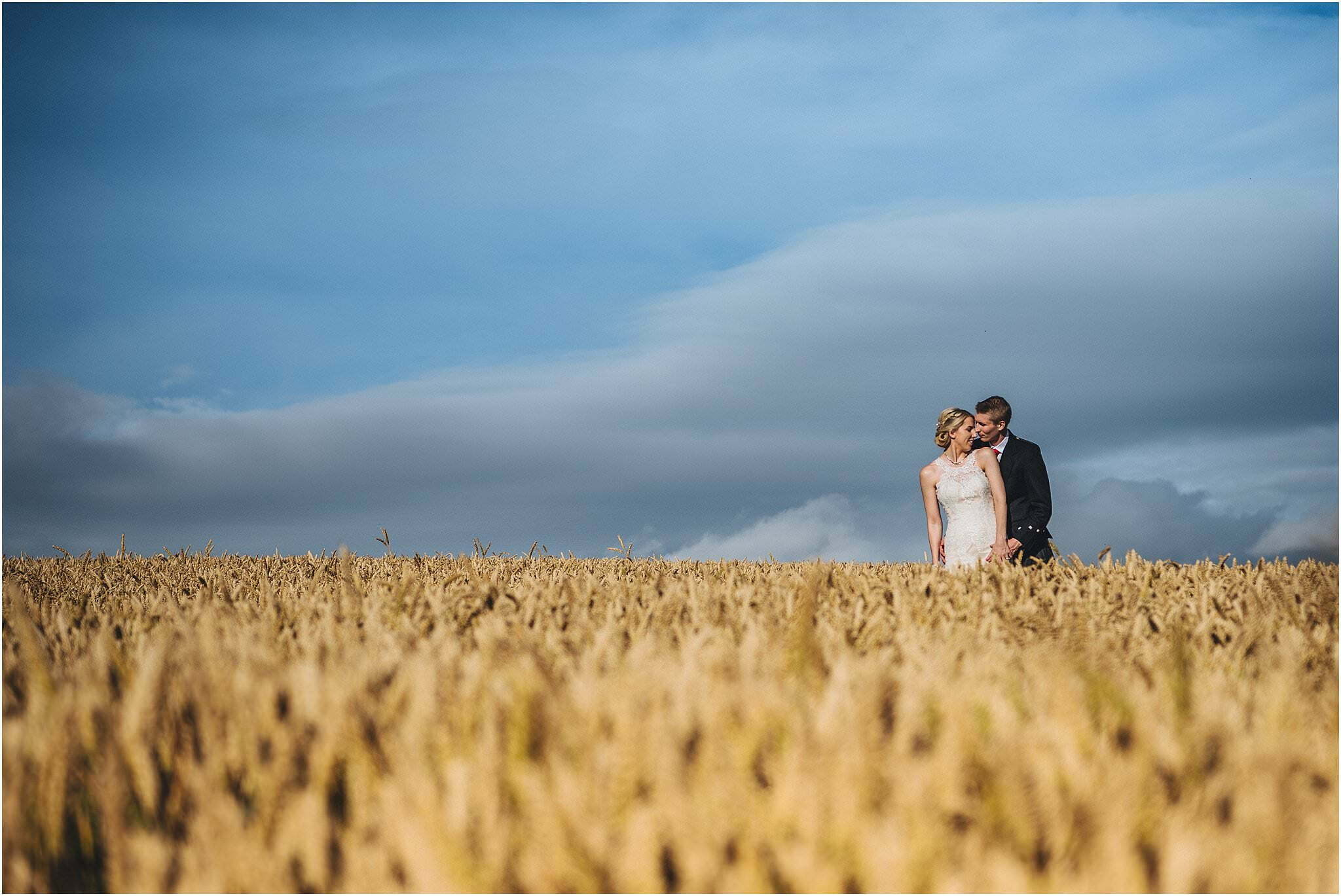 Brinsop court wedding couple