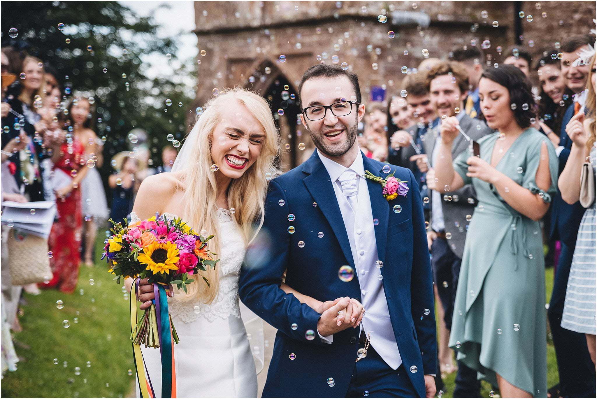 Herefordshire festival wedding
