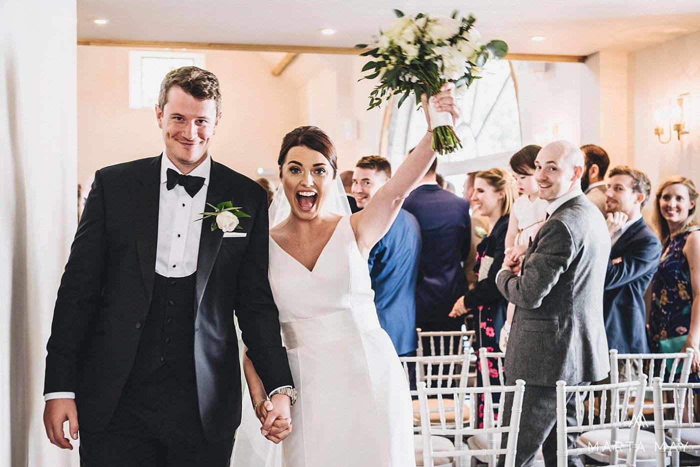 black tie wedding Lemore Manor