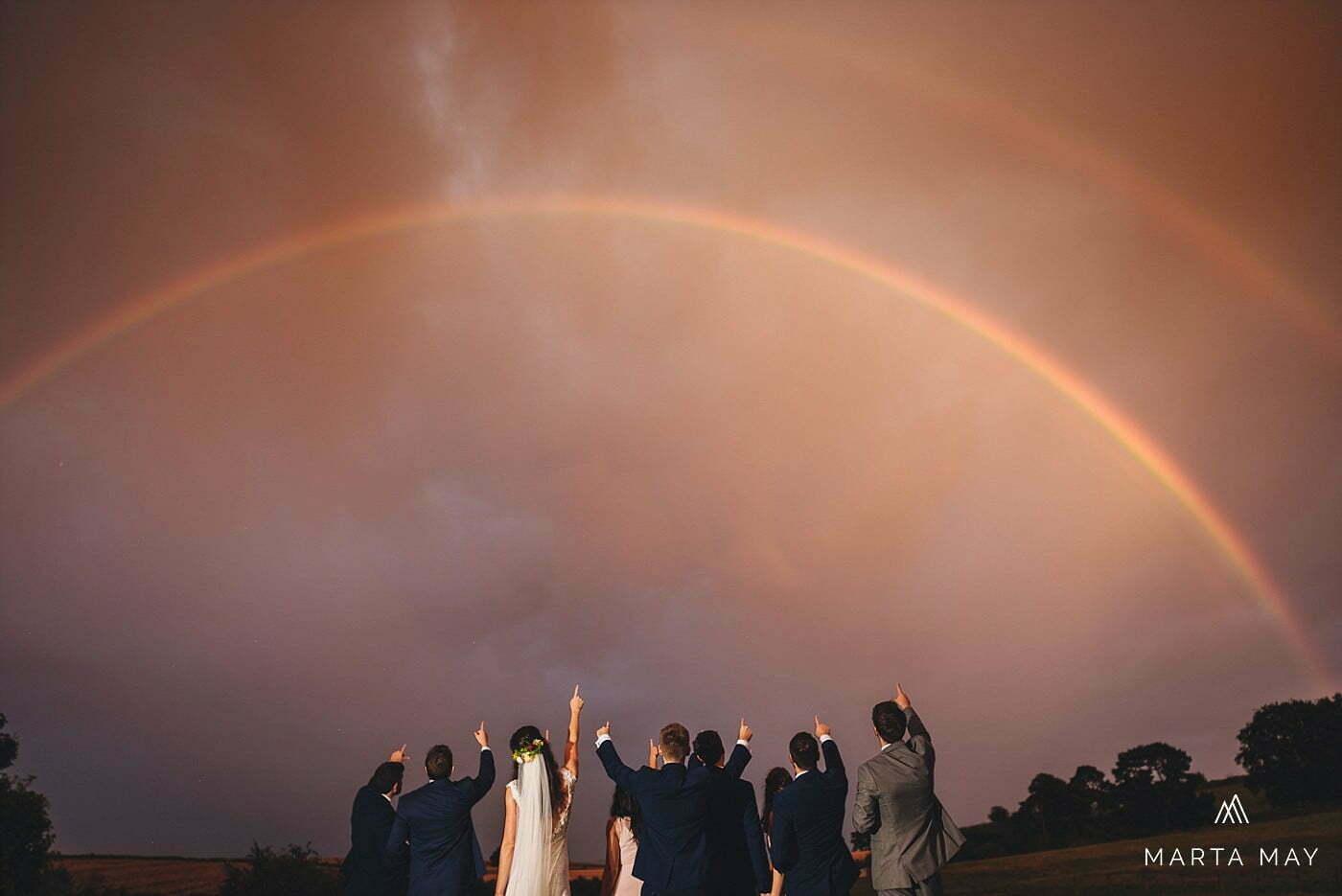 rainy Lyde Court wedding