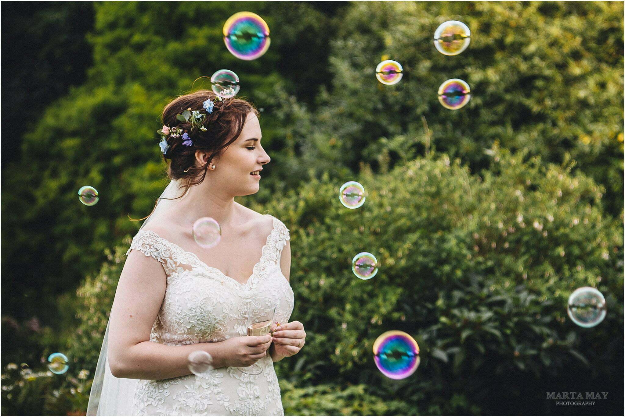 Bride at Lyde Arundel