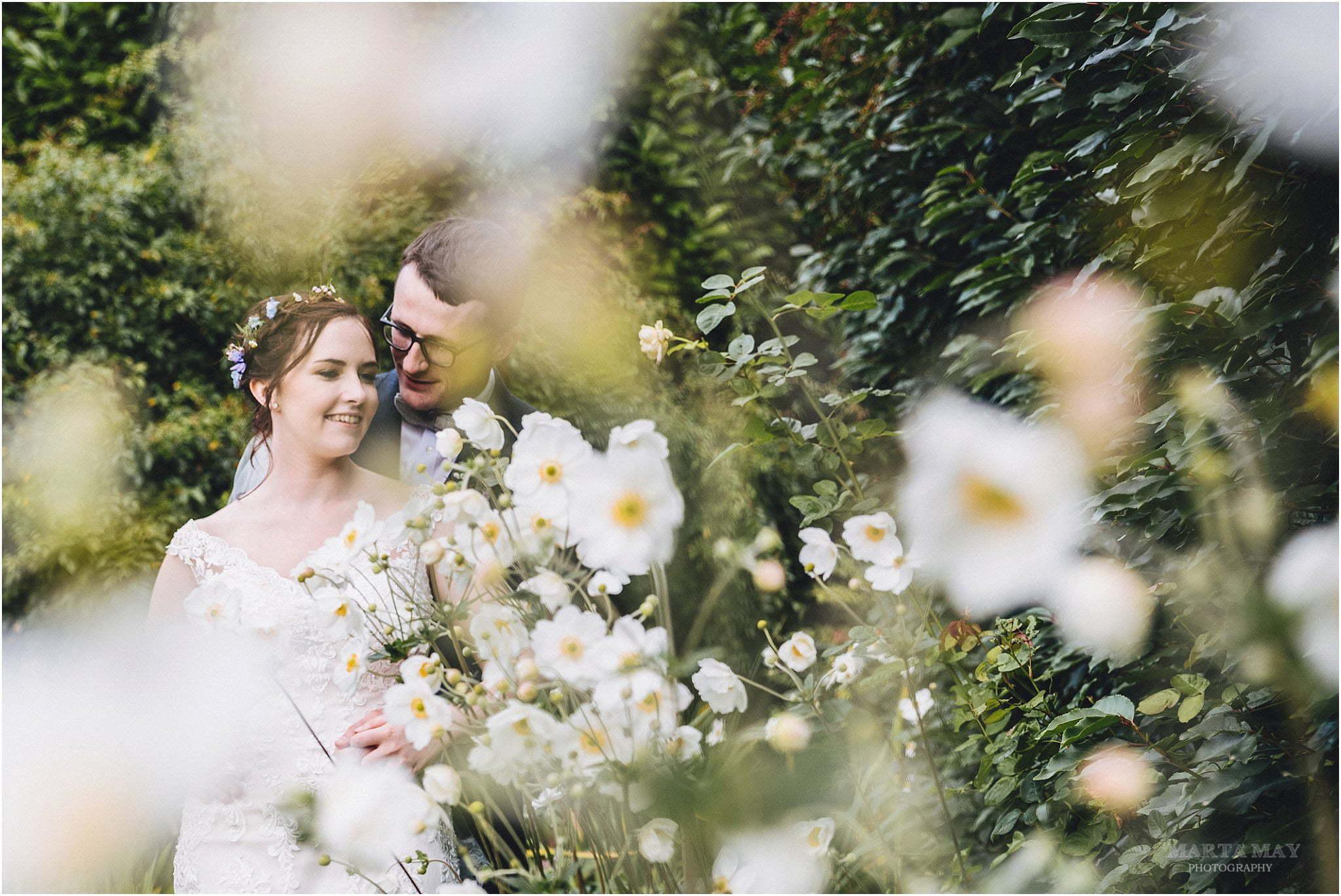 Bride Groom at Lyde Arundel
