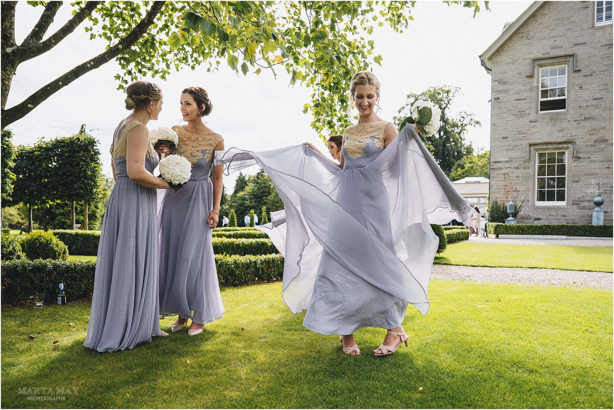bridesmaids at Lemore