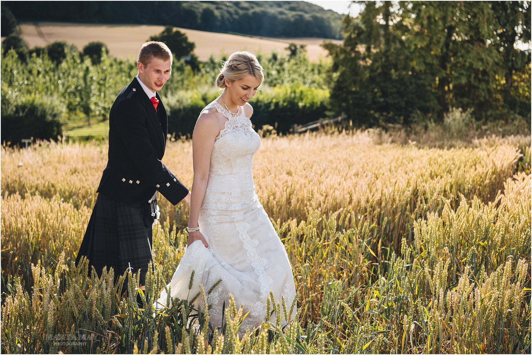 bride groom at Brinsop Court