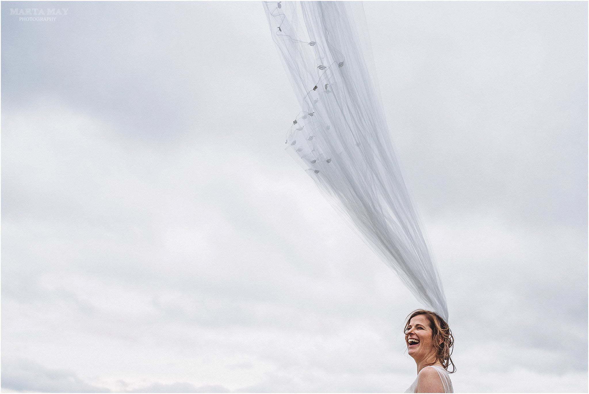 Burton Court bride veil