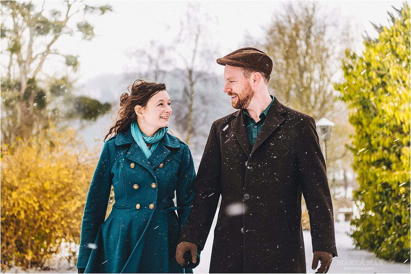 Herefordshire wedding, engagement shoot