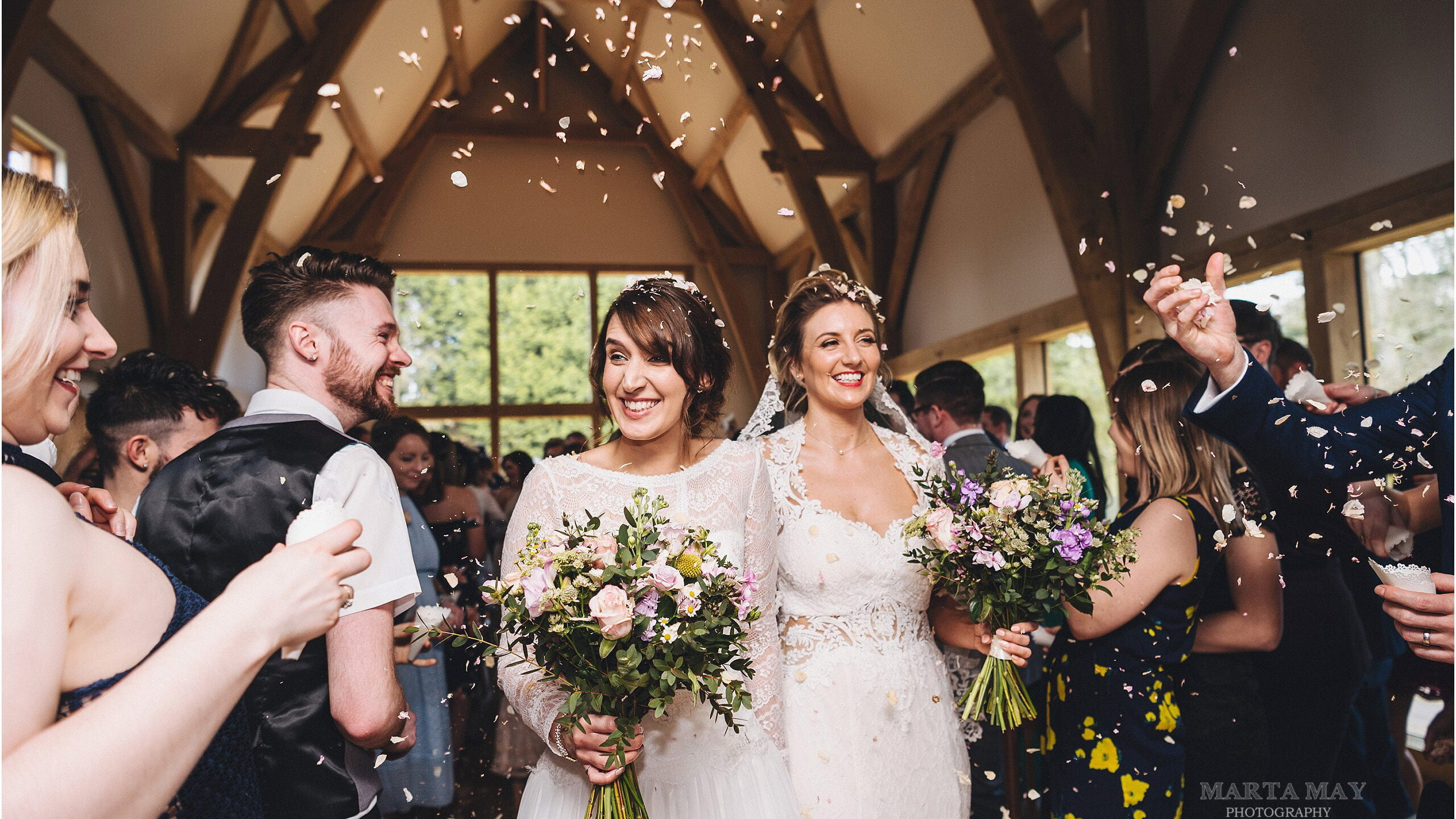 gorgeous winter weddings