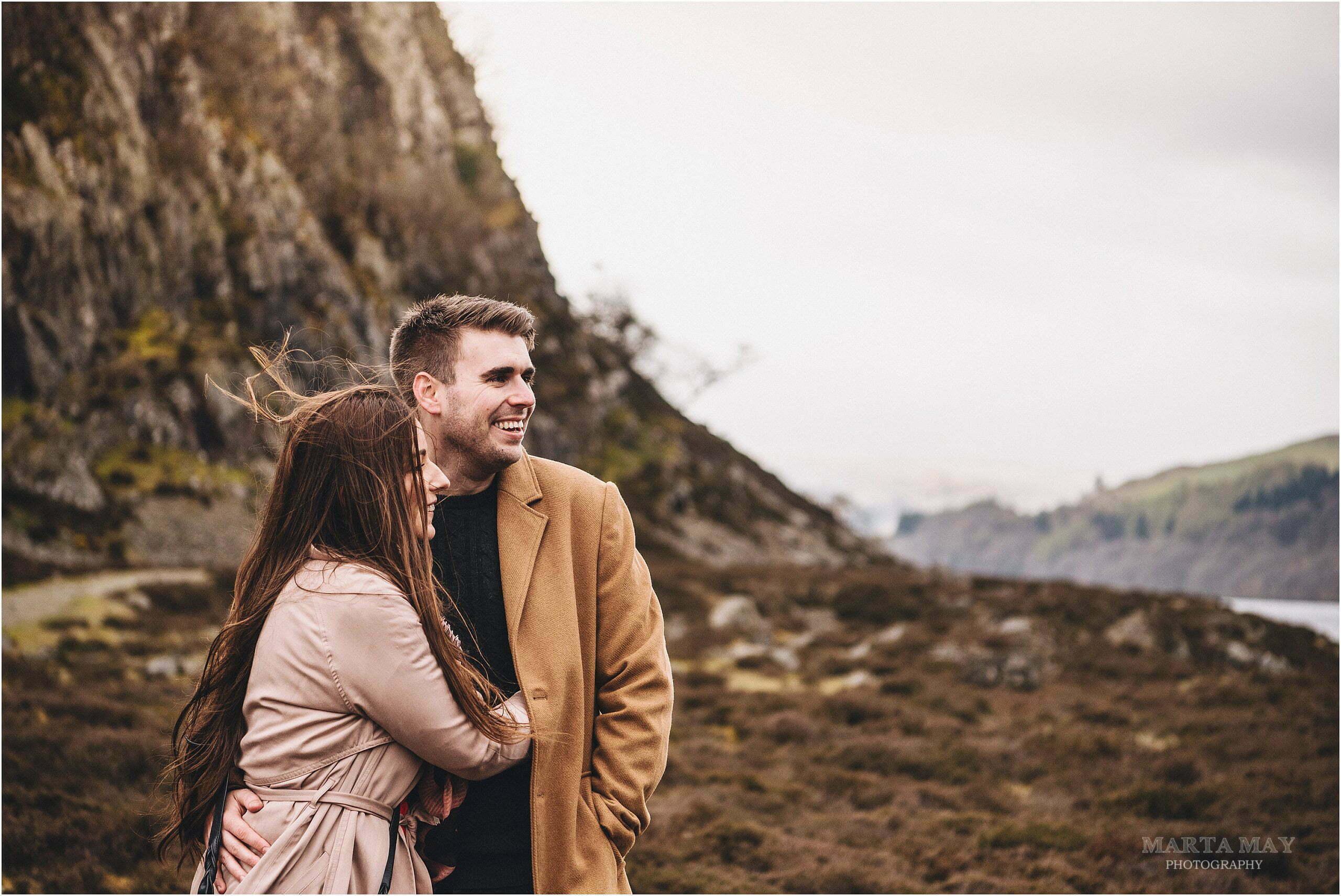 Elan Valley engagement photography