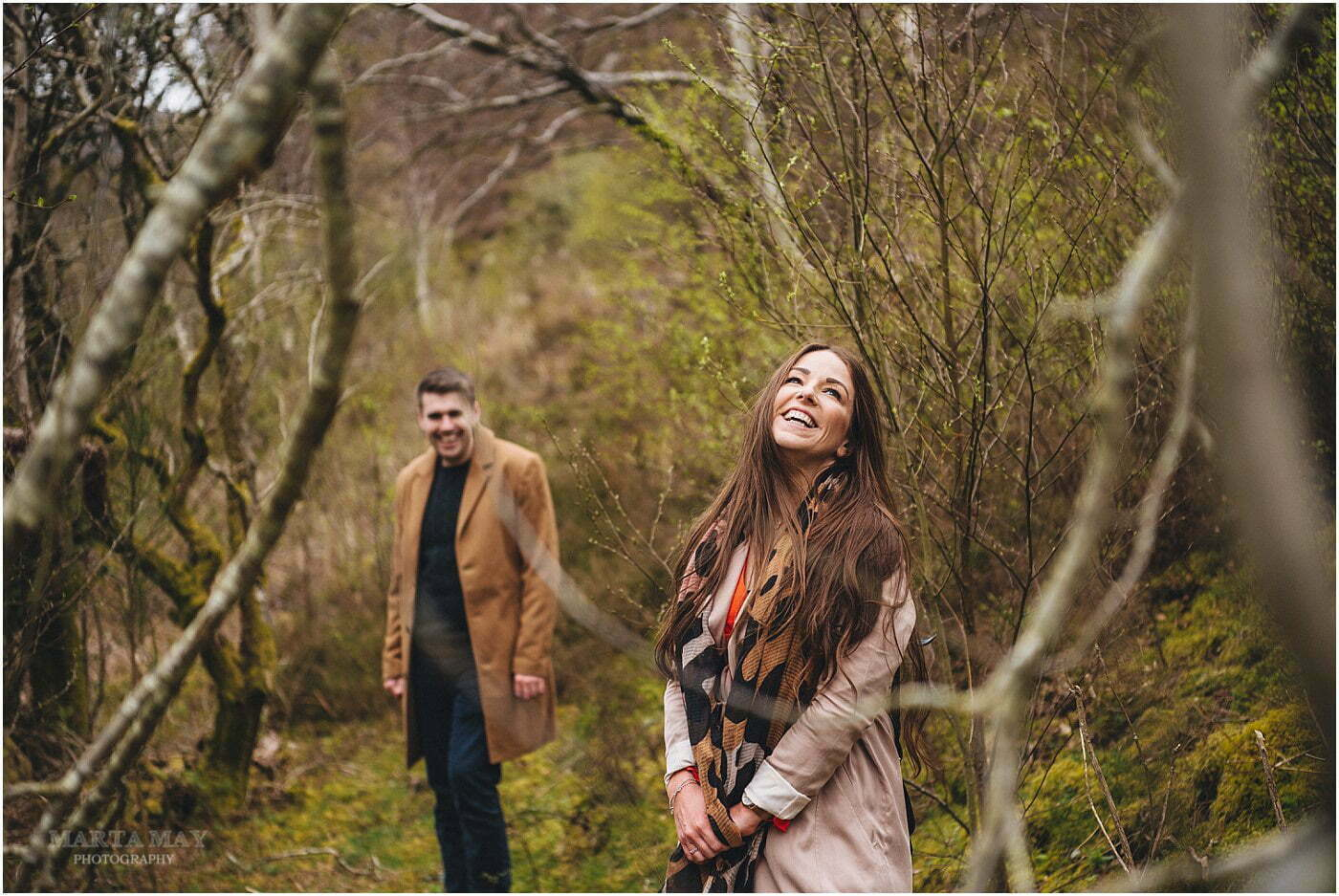 Elan Valley engagement photography Wales