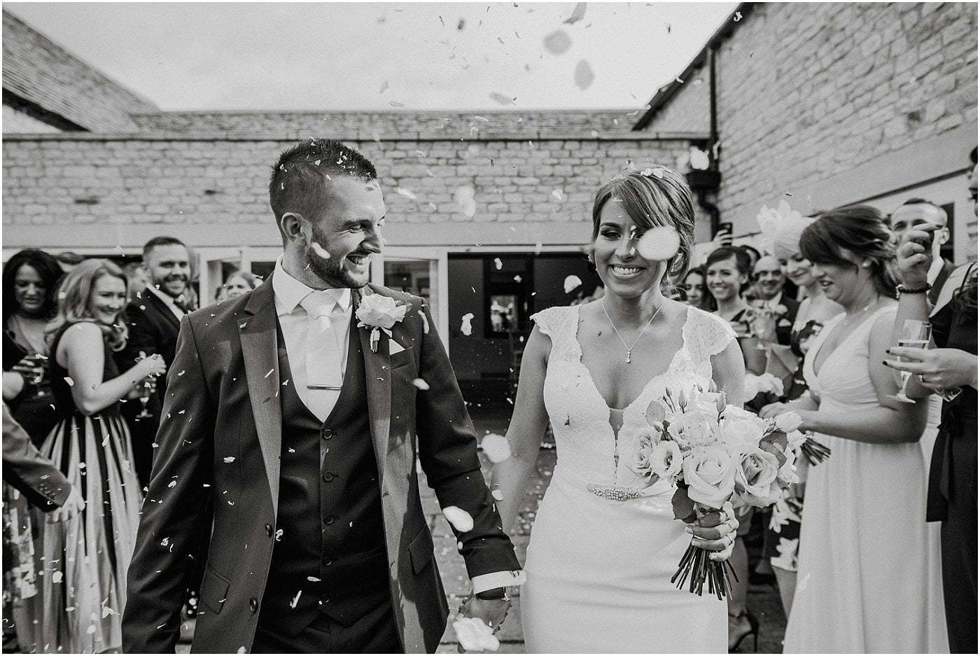 Hyde Barn wedding photography Cotswold