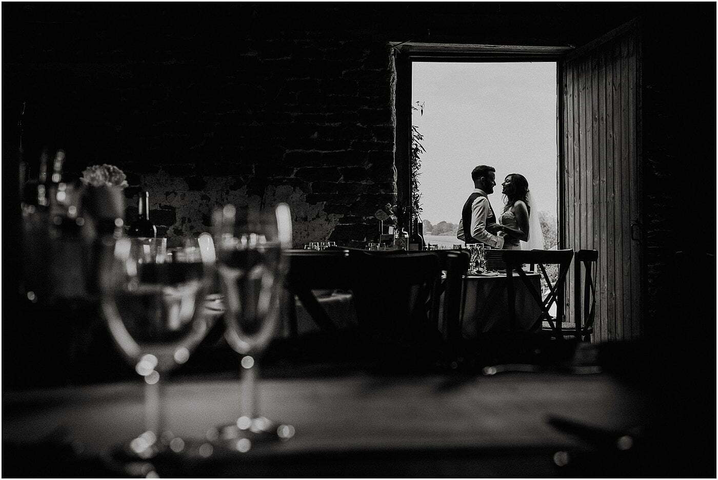 barn wedding Shropshire wedding photographer