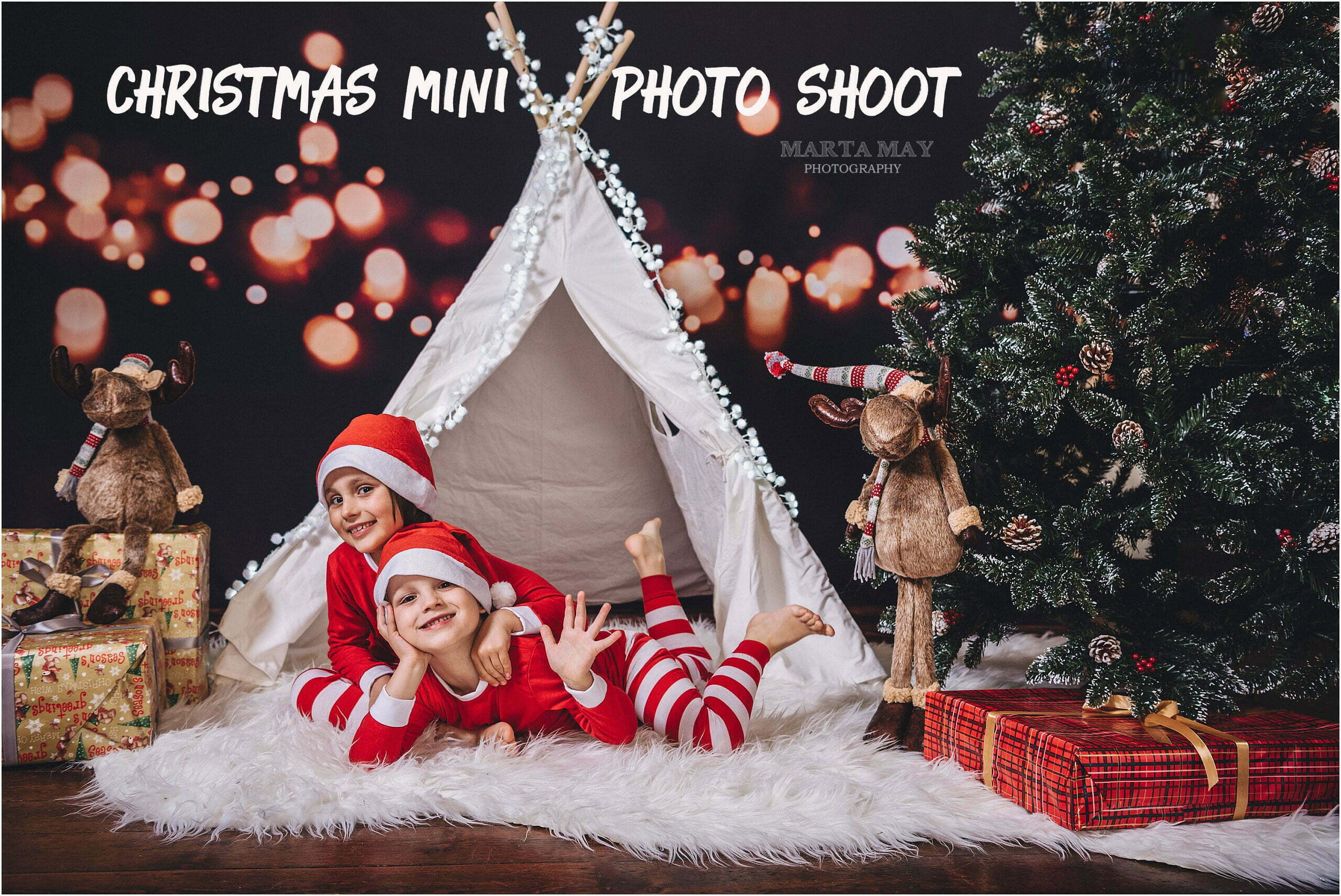 Christmas Mini Photo Sessions , Marta May Photography , West