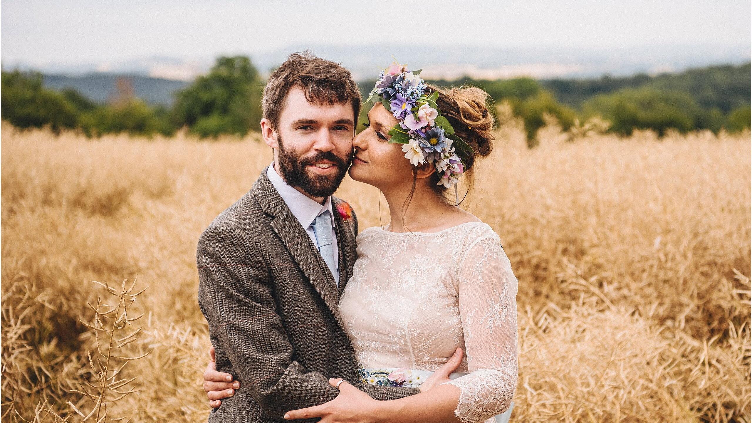 Mill Barns wedding Marta May