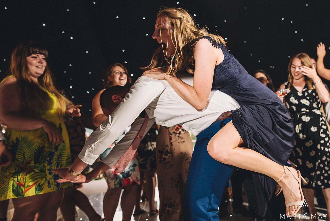 crazy dance floor marquee