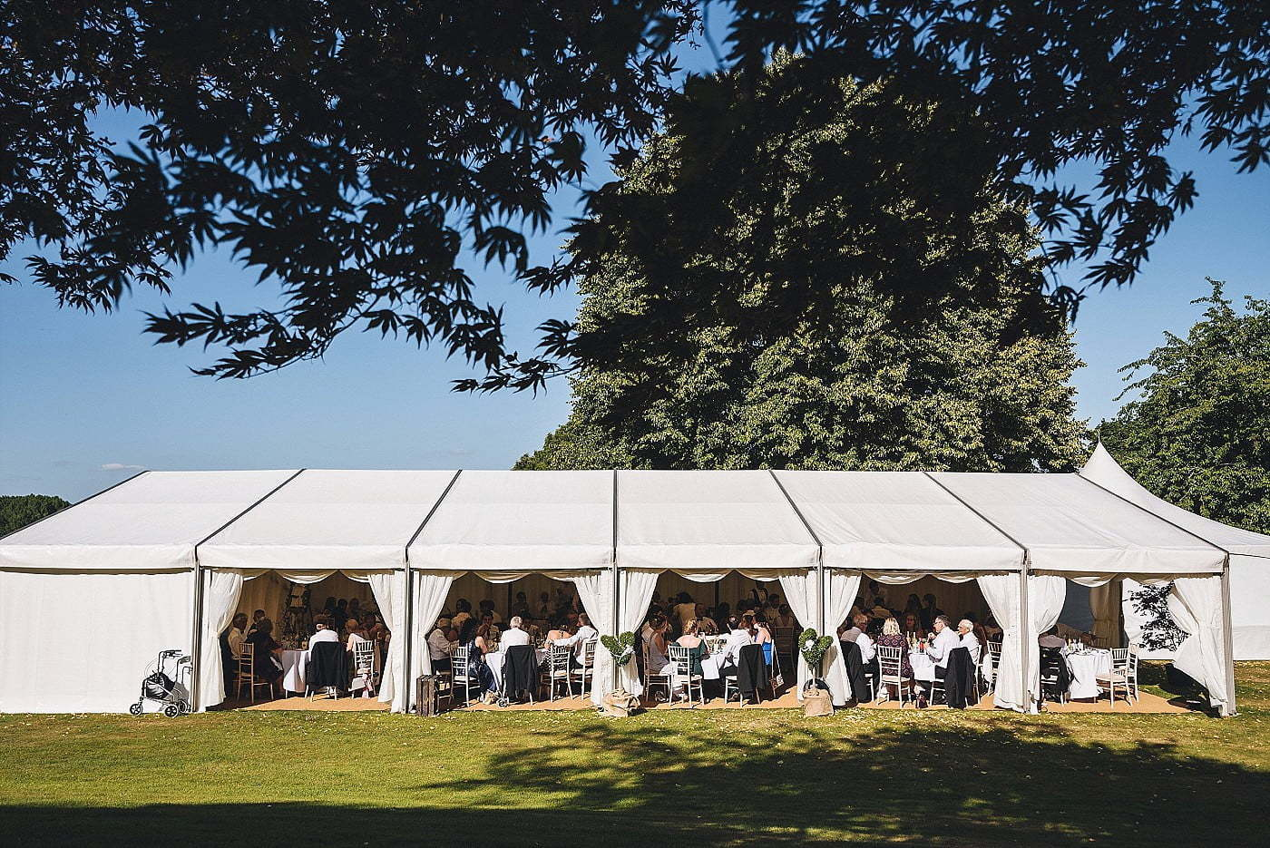 Homme House wedding marquee