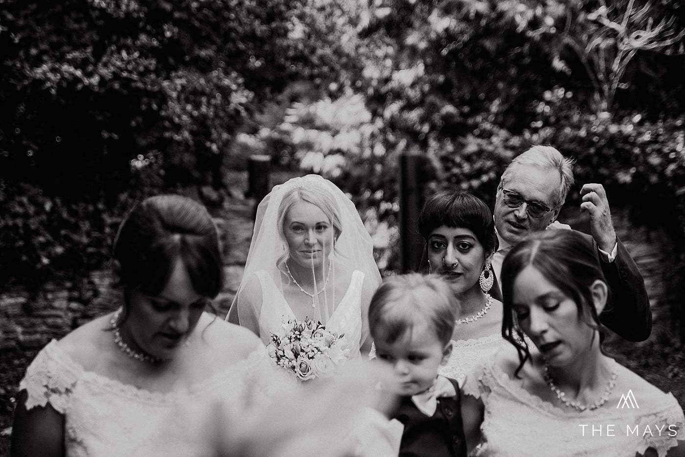 bride before the ceremony