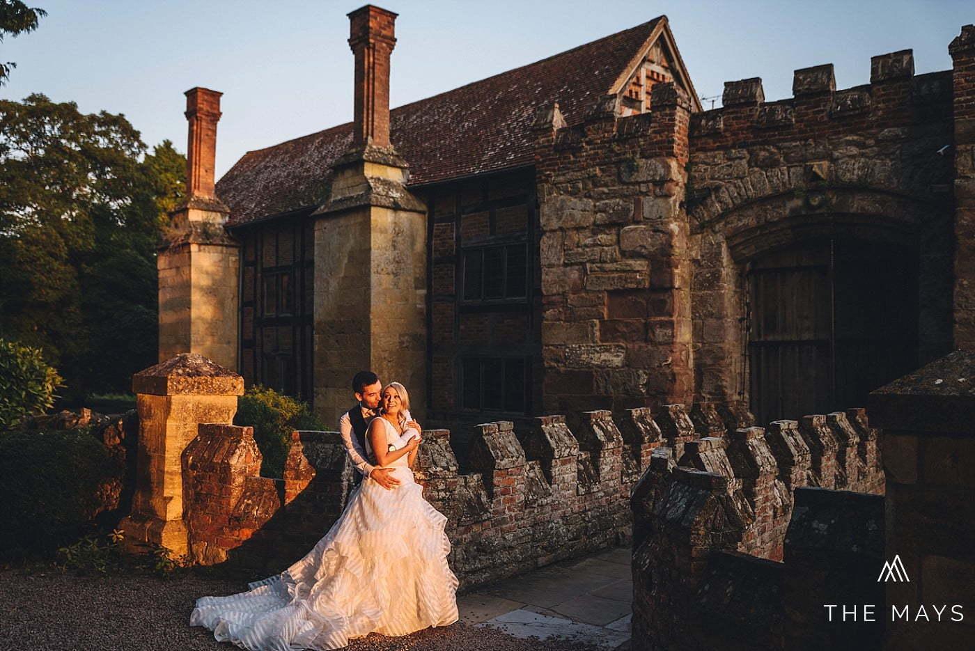 Birtsmorton Court couple shoot