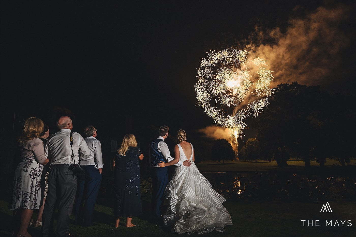 Birtsmorton Court fireworks