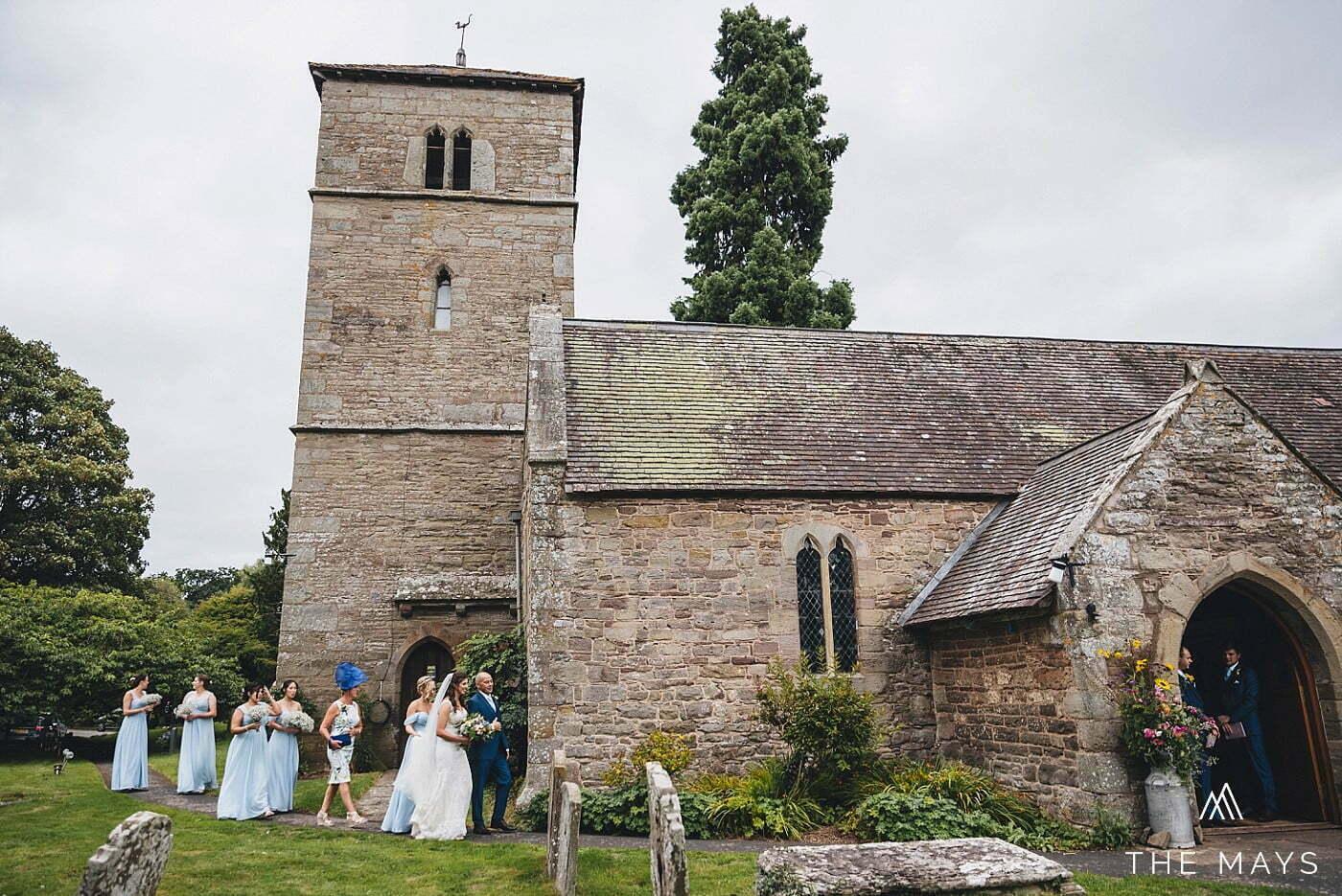 church ceremony Herefordshire