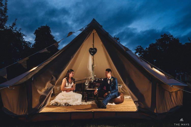 Herefordshire marquee wedding photographer