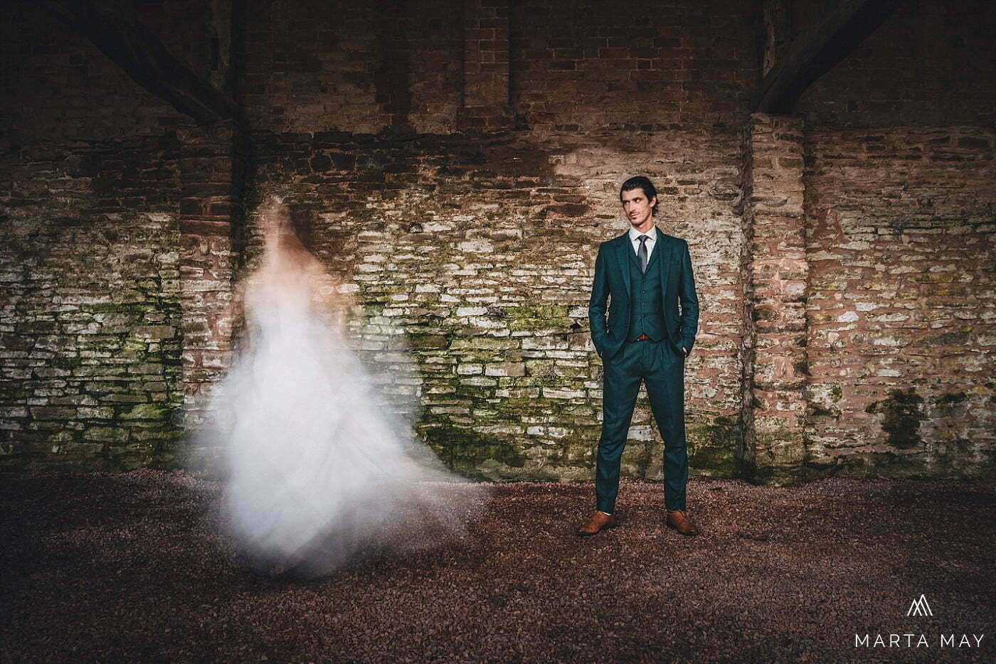 creative wedding portraits