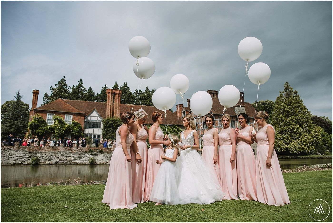 bridal party Birtsmorton