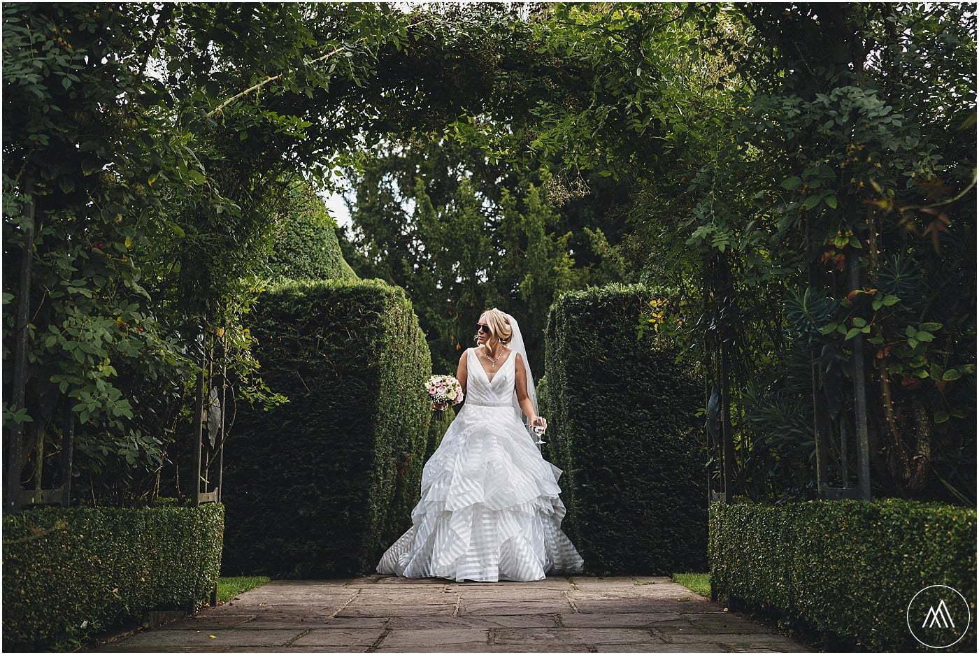 Birtsmorton Court gardens